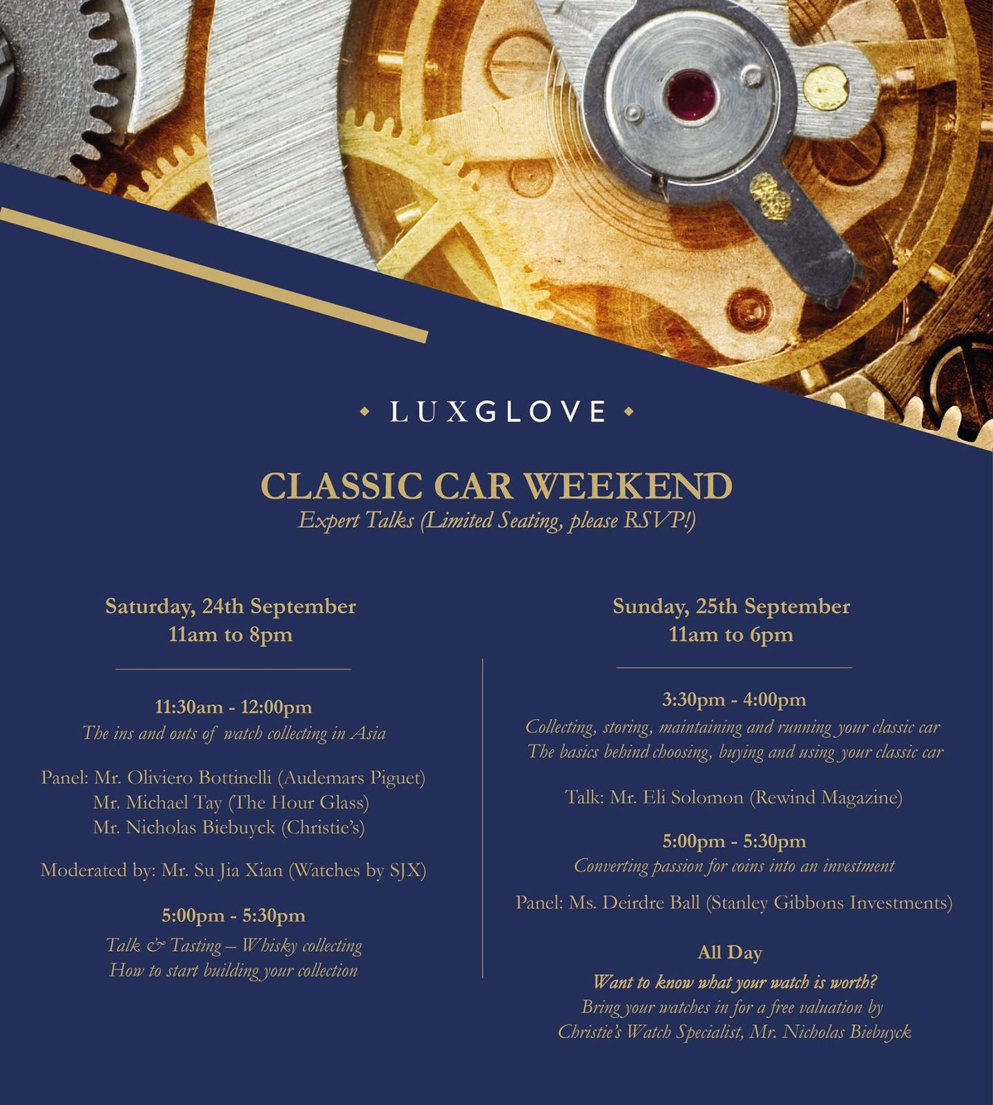 Luxglove Classic Car Weekend 2016