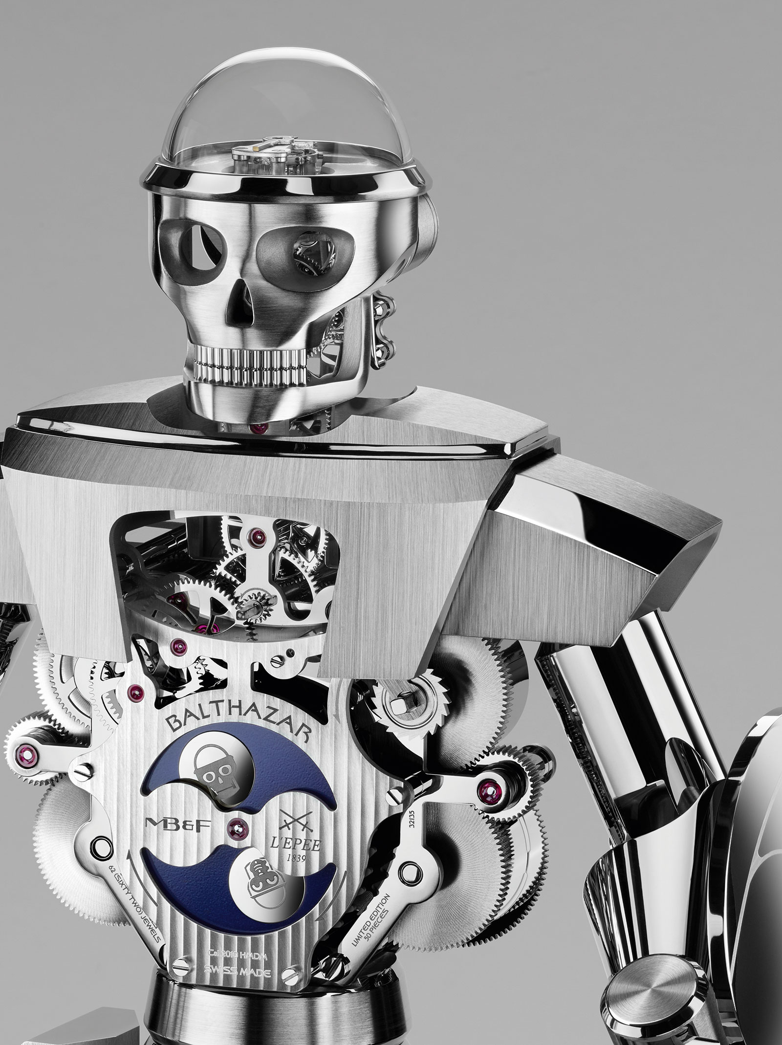 MB&F Balthazar Table Clock 3