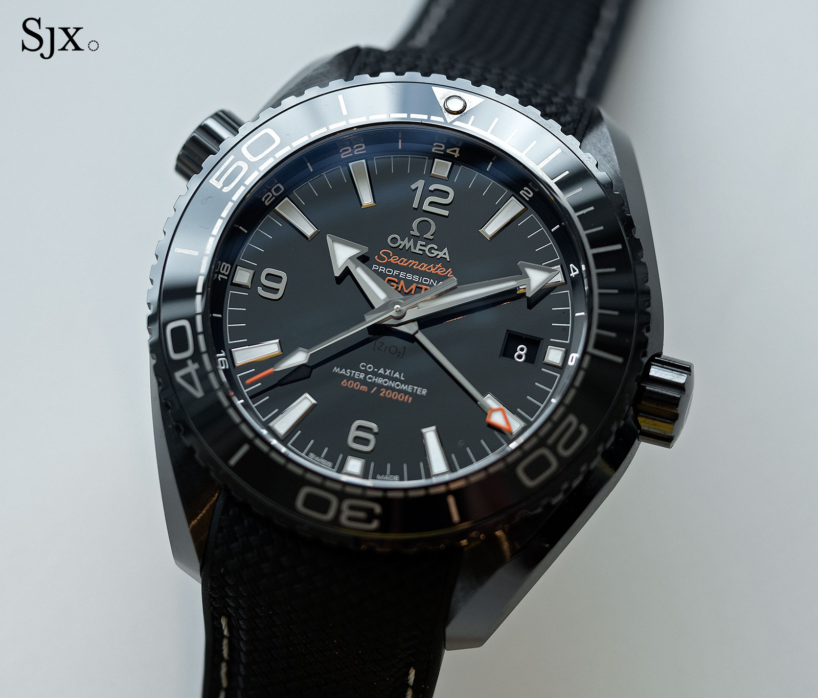 Omega Seamaster Planet Ocean Deep Black GMT 1