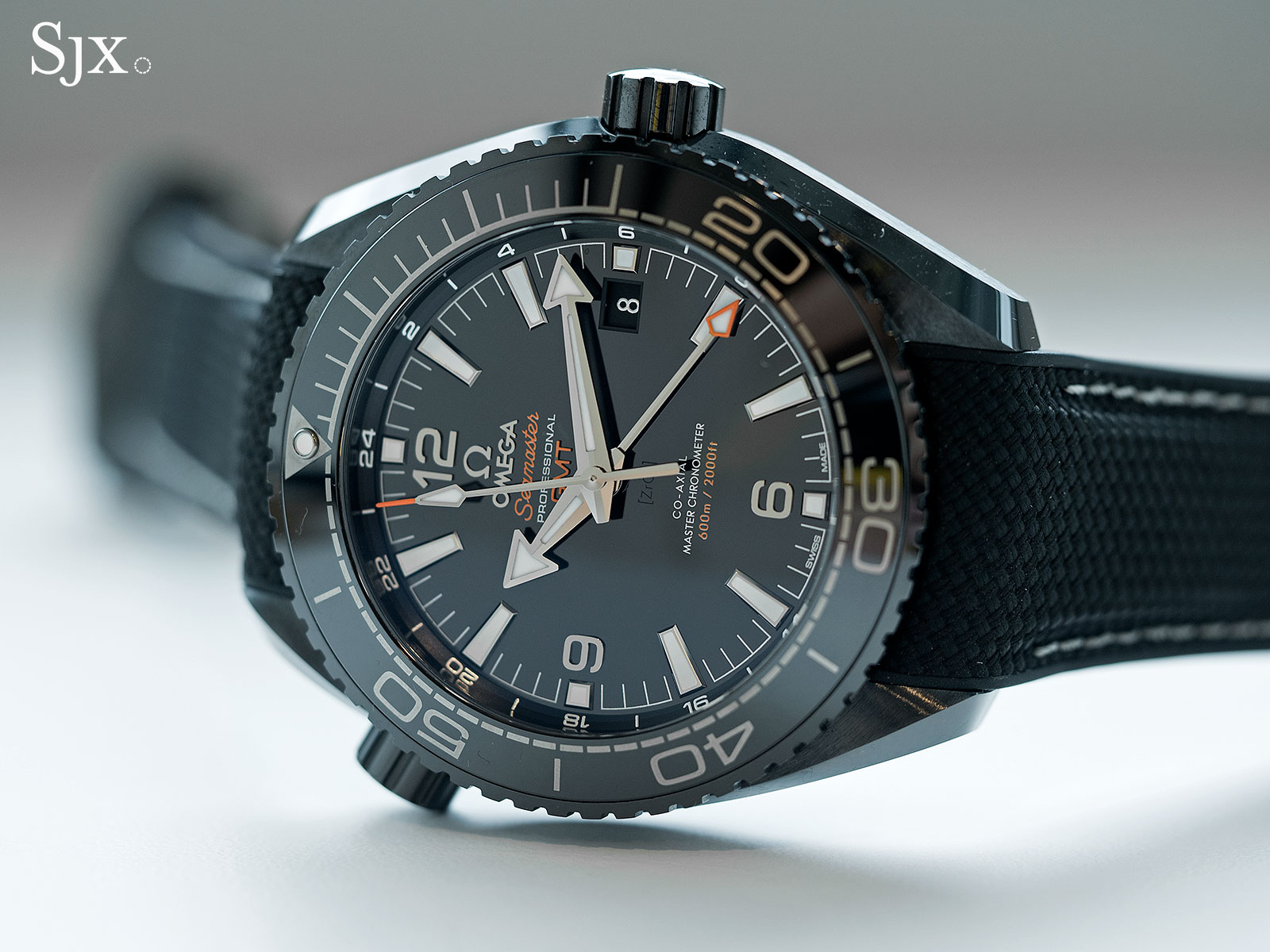 Omega Seamaster Planet Ocean Deep Black GMT 2