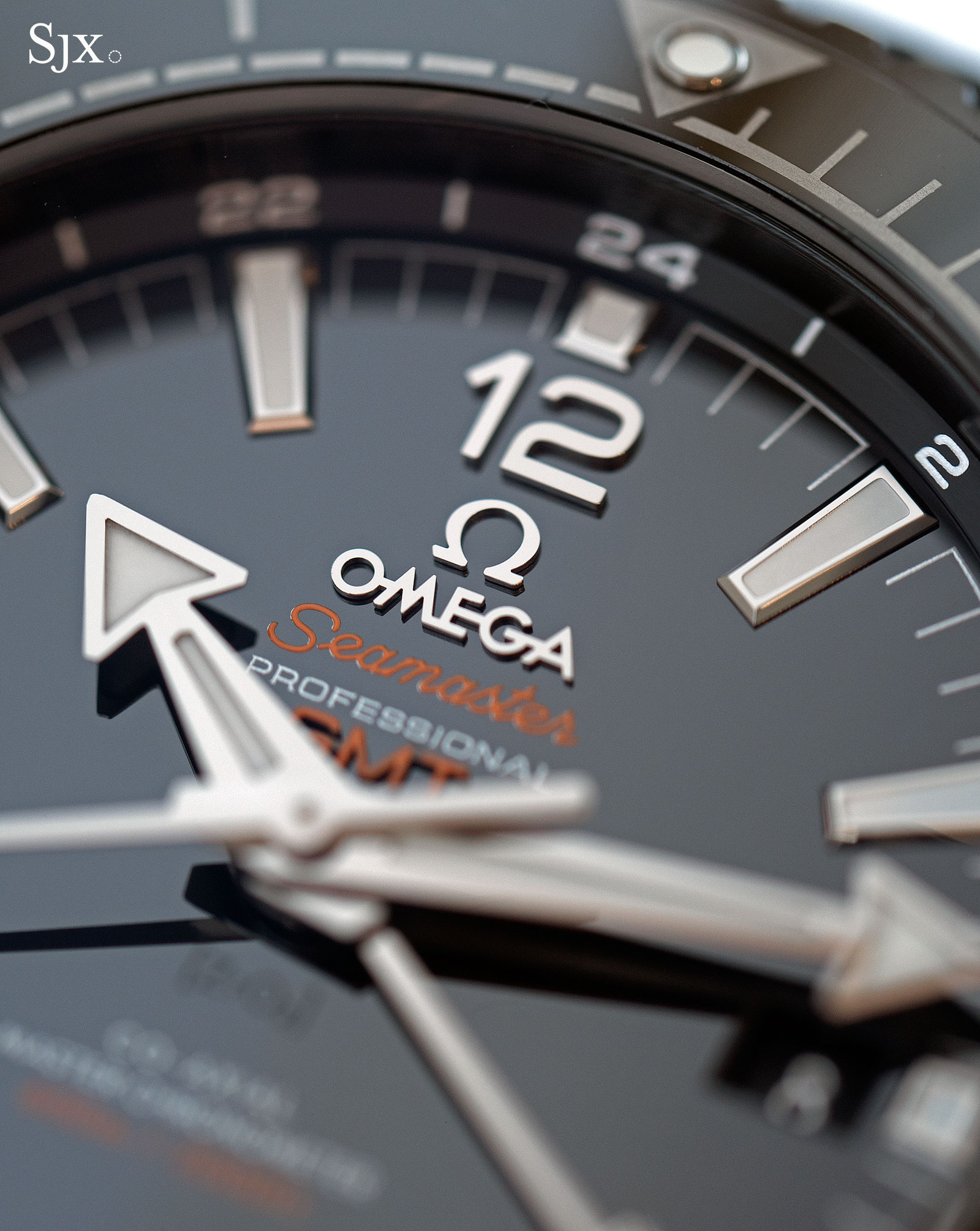 Omega Seamaster Planet Ocean Deep Black GMT 3
