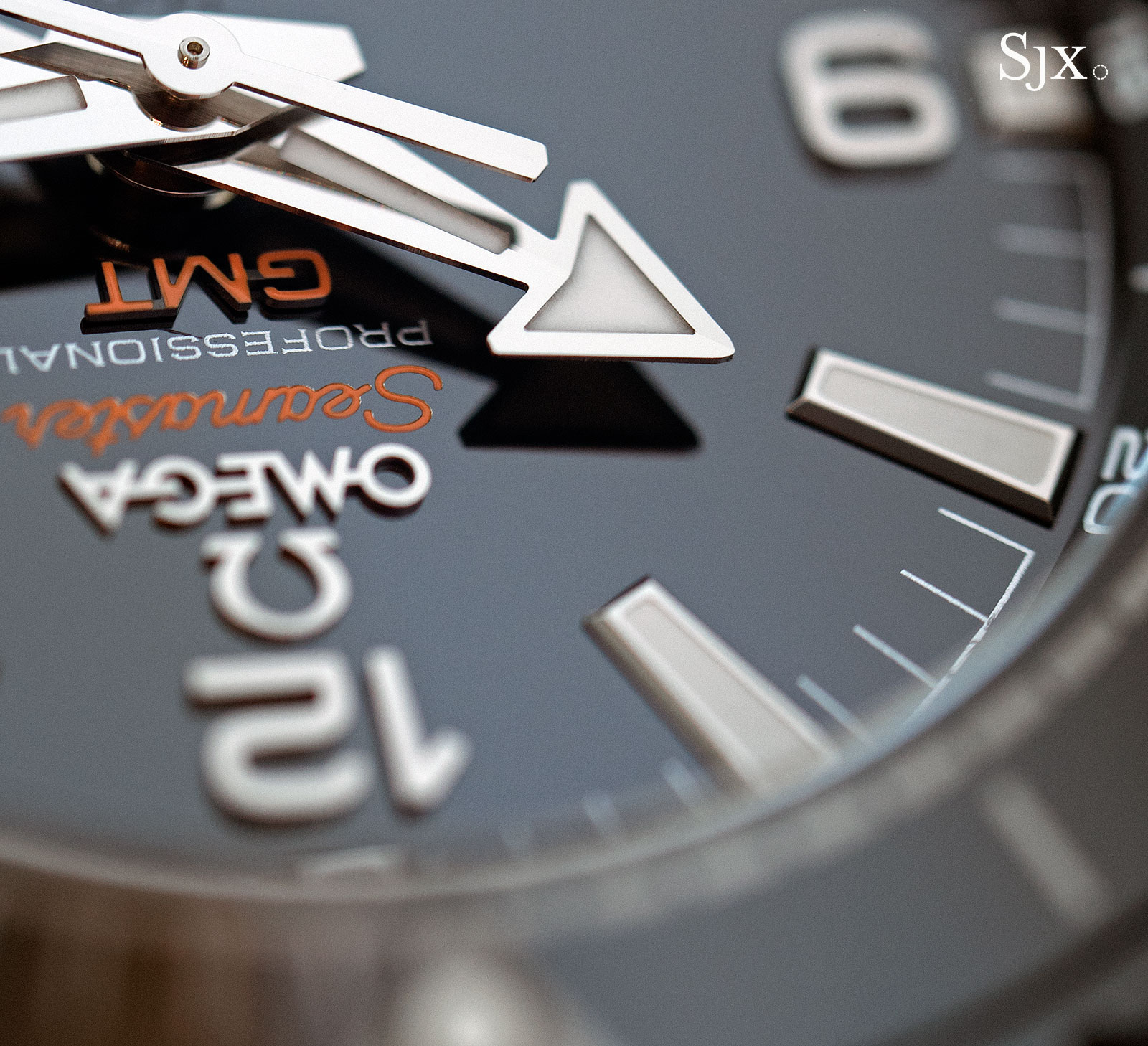 Omega Seamaster Planet Ocean Deep Black GMT 4