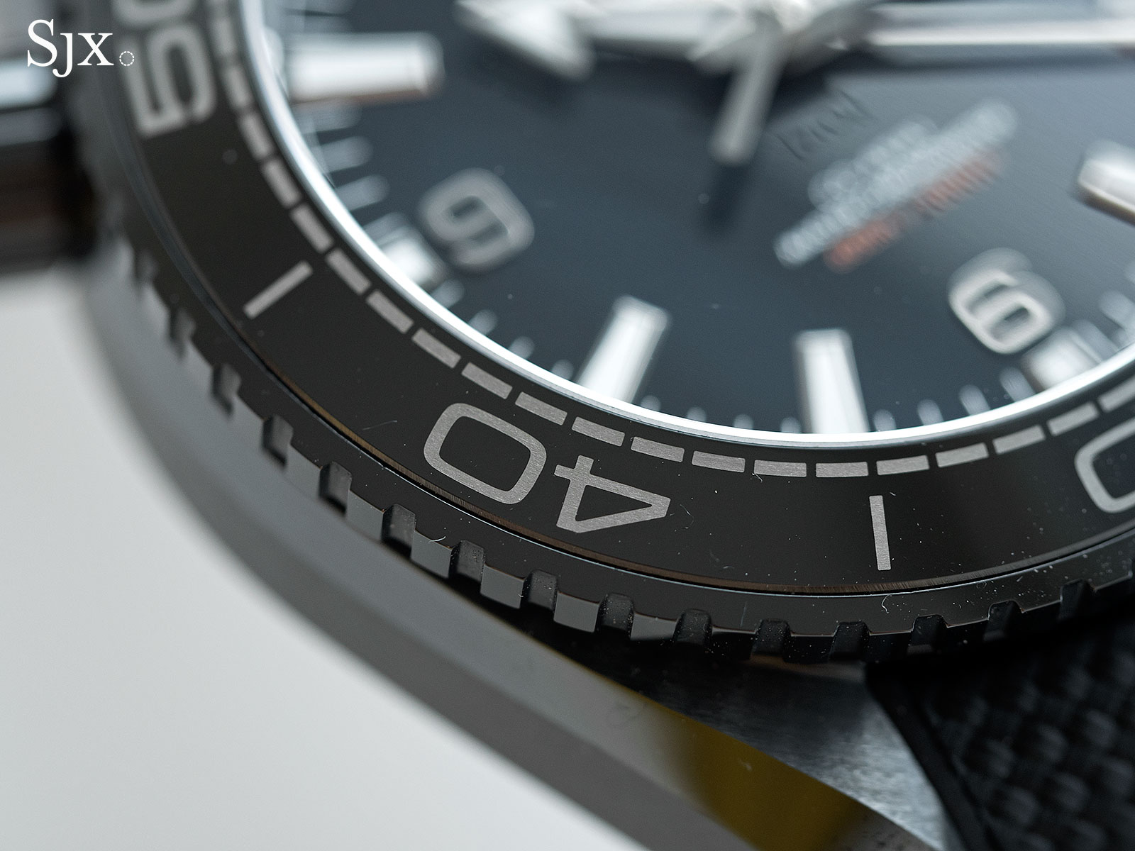 Omega Seamaster Planet Ocean Deep Black GMT 6