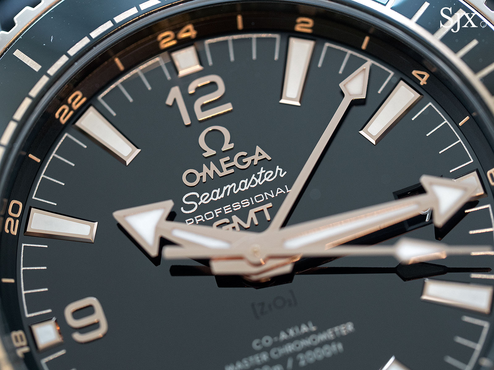 Omega Seamaster Planet Ocean Deep Black Sedna Gold 2