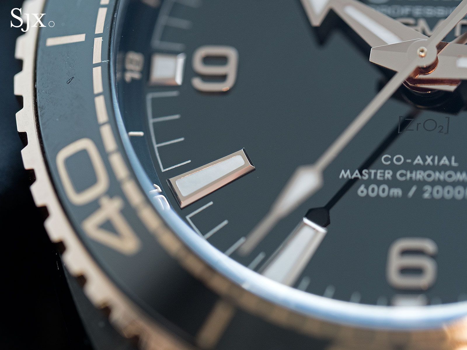 Omega Seamaster Planet Ocean Deep Black Sedna Gold 3