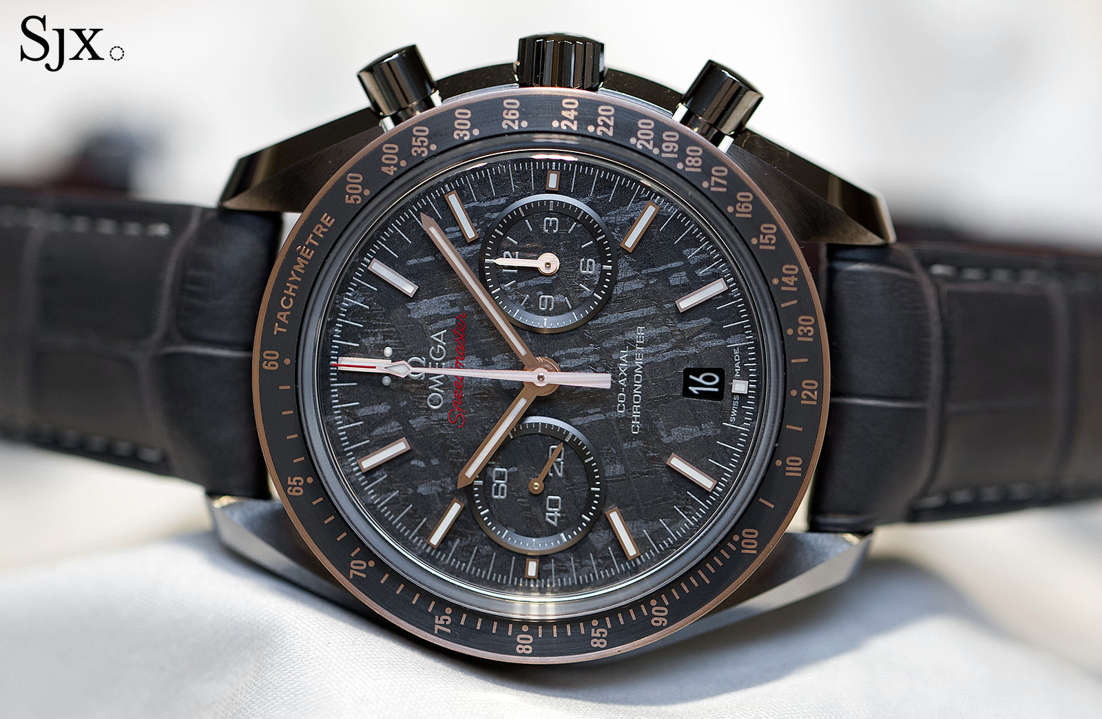 Omega Speedmaster Grey Side of the Moon Meteorite 1