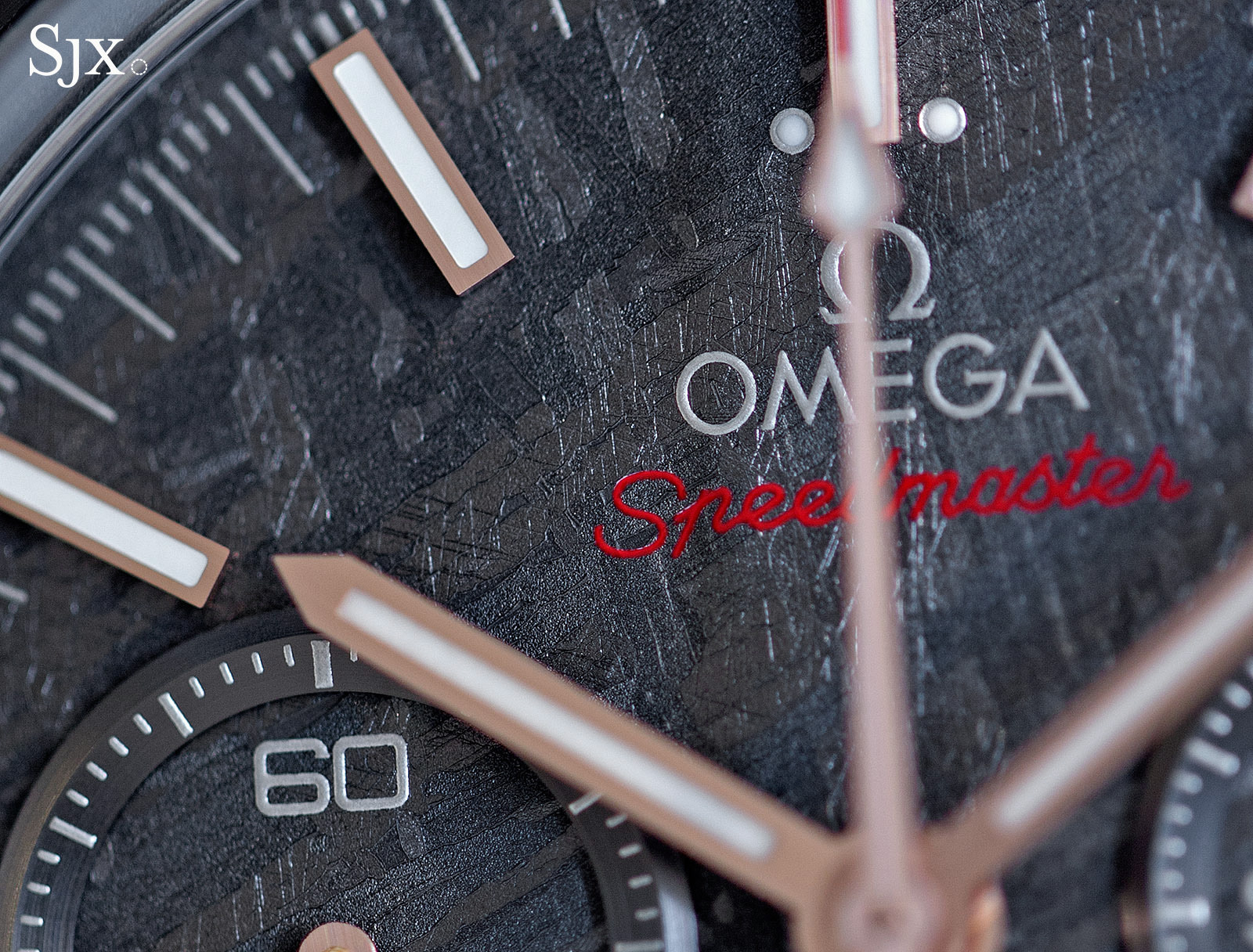 Omega Speedmaster Grey Side of the Moon Meteorite 2