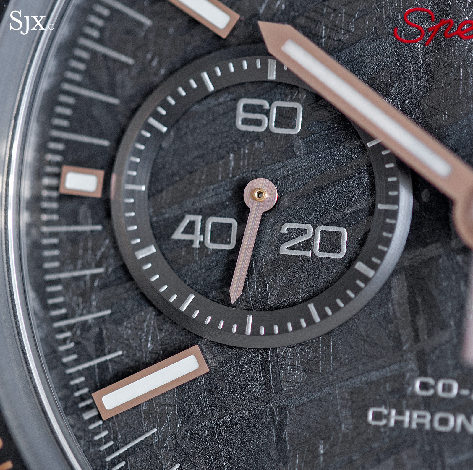 Omega Speedmaster Grey Side of the Moon Meteorite 3