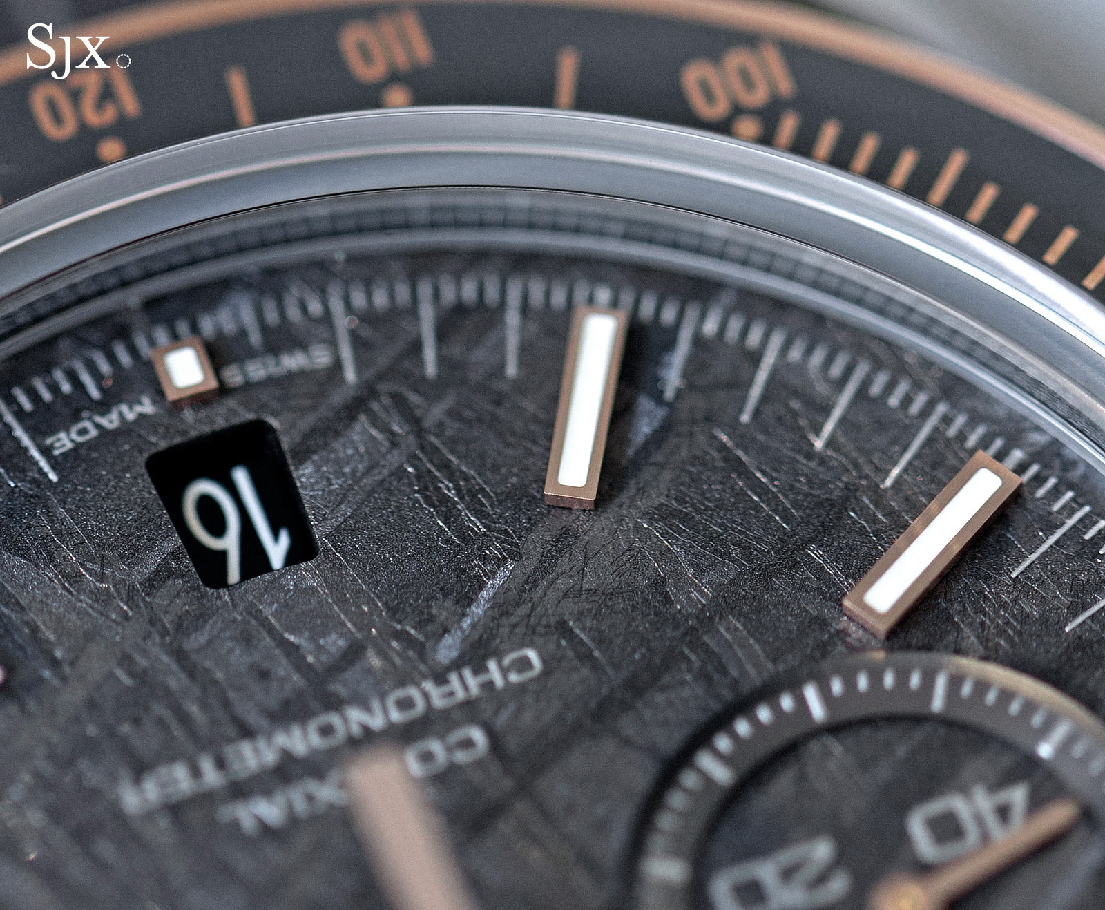Omega Speedmaster Grey Side of the Moon Meteorite 4