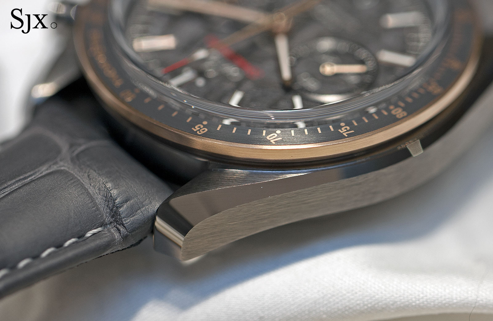 Omega Speedmaster Grey Side of the Moon Meteorite 6