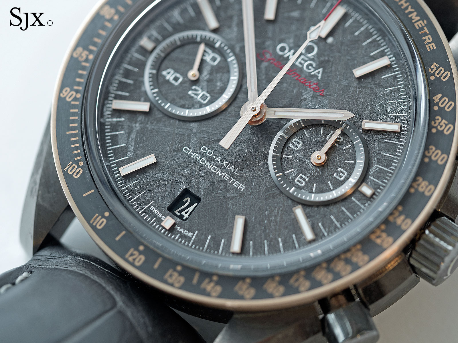 Omega Speedmaster Grey Side of the Moon Meteorite Ceramic 2