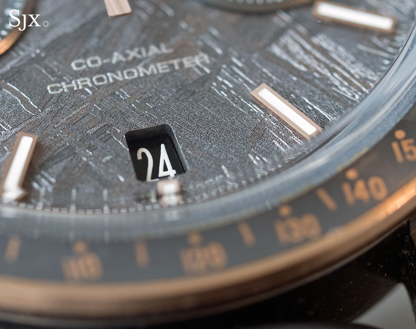 Omega Speedmaster Grey Side of the Moon Meteorite Ceramic 3
