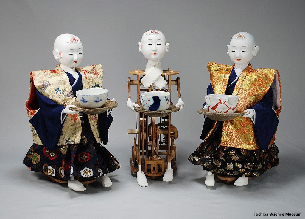 Tanaka Hisashige Chahakobi ningyo