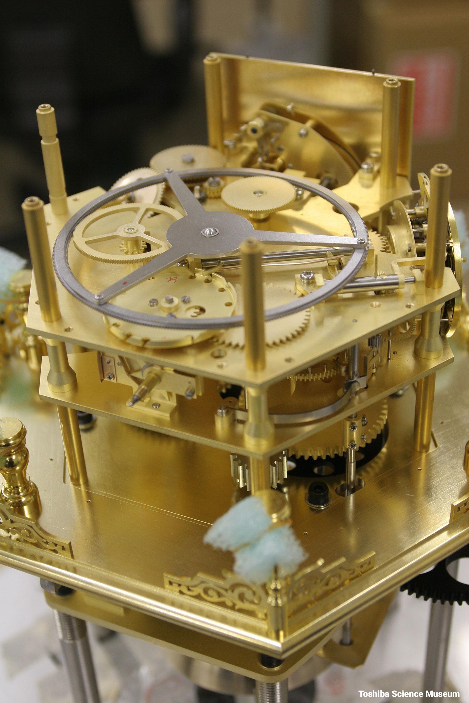 Tanaka Hisashige Myriad Year Clock 1