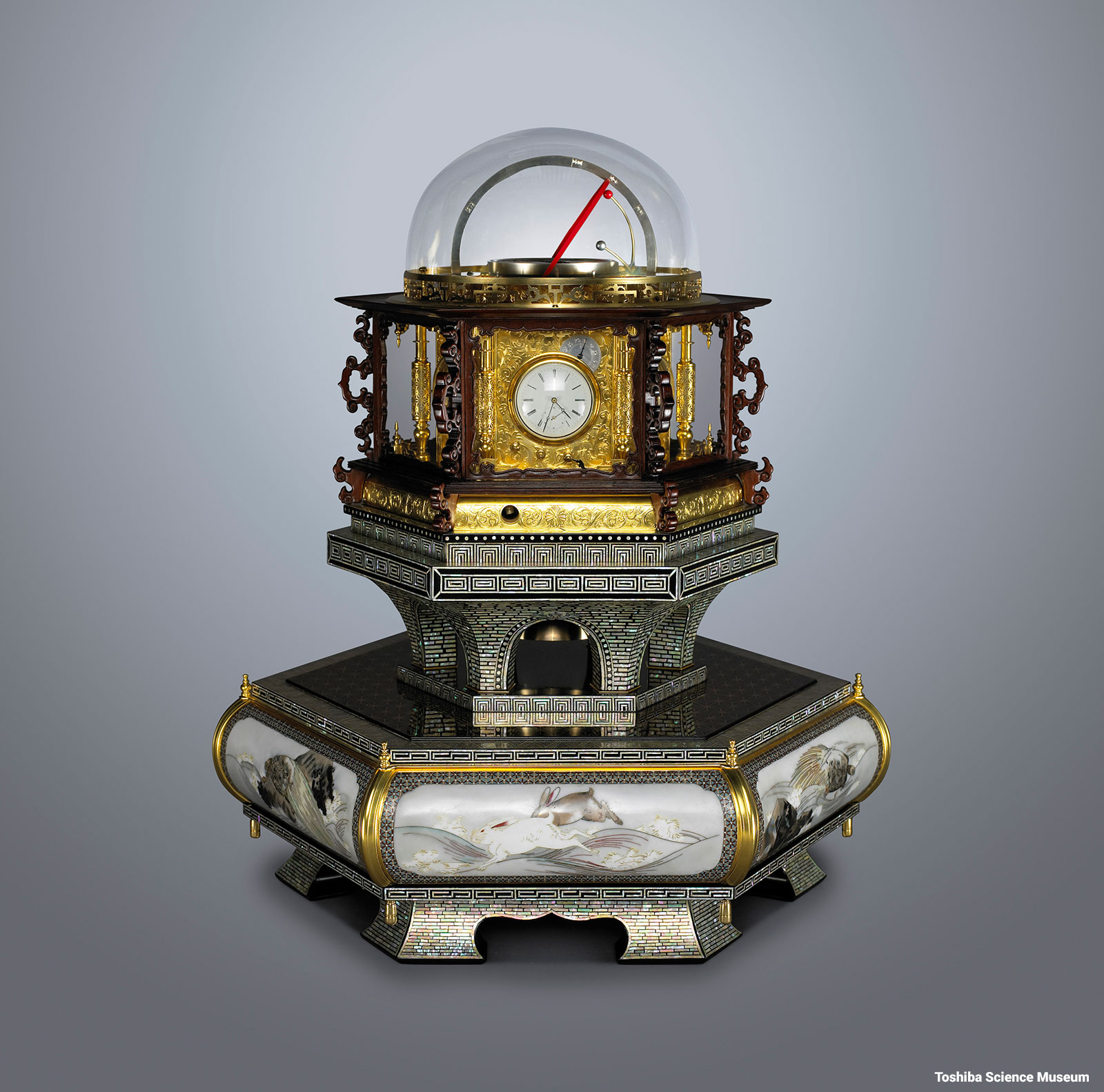 Tanaka Hisashige Myriad Year Clock 3