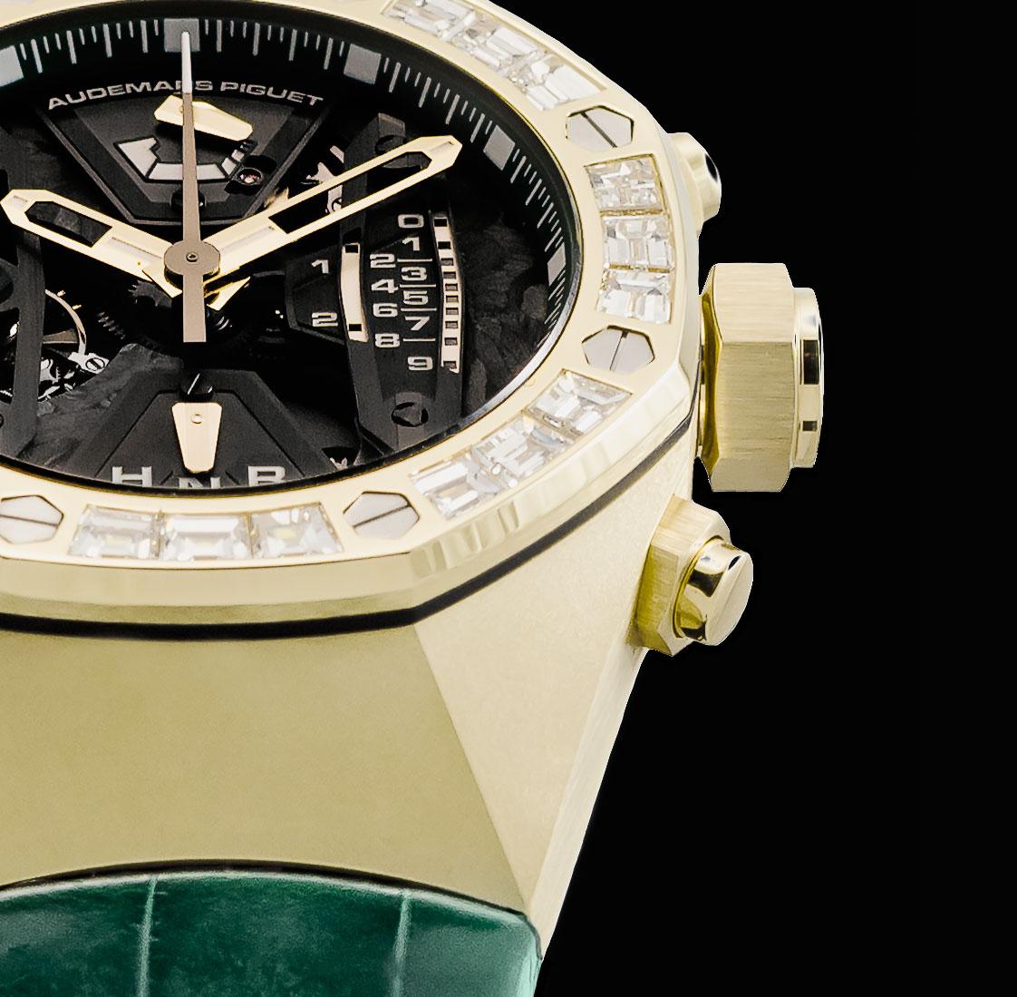 Audemars Piguet Royal Oak Concept Tourbillon Chronograph yellow gold THG 2