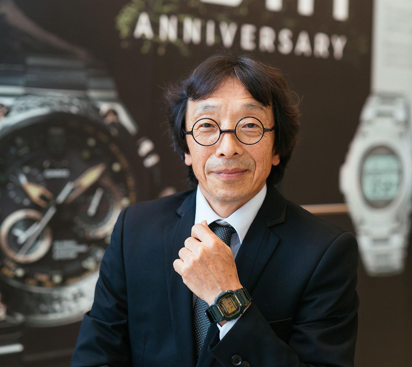 G-Shock inventor Kikuo Ibe