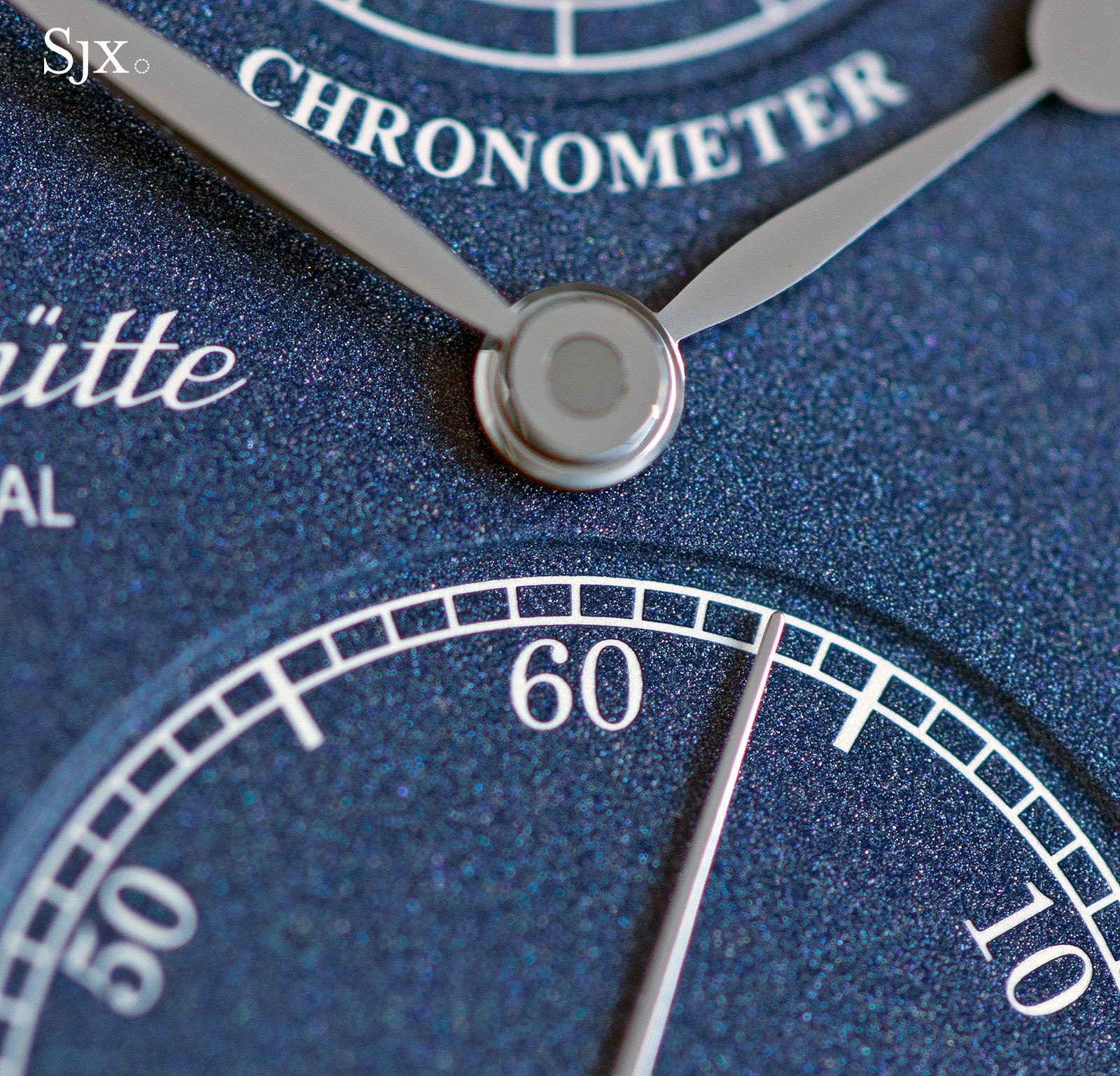 Glashütte Original Senator Chronometer Blue 2