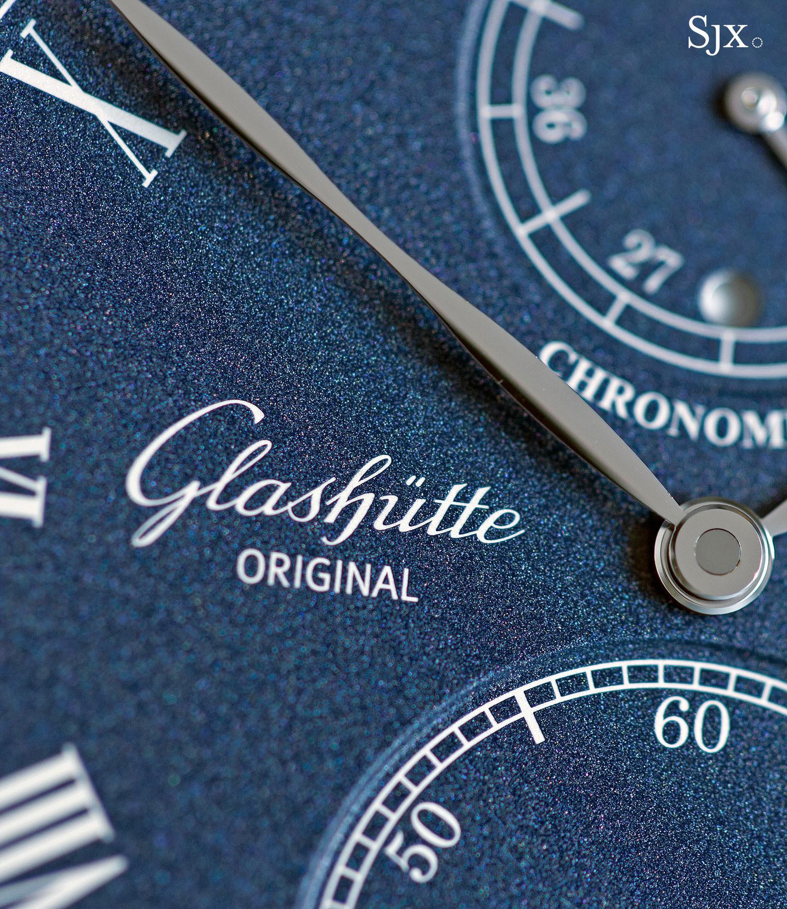 Glashütte Original Senator Chronometer Blue 3