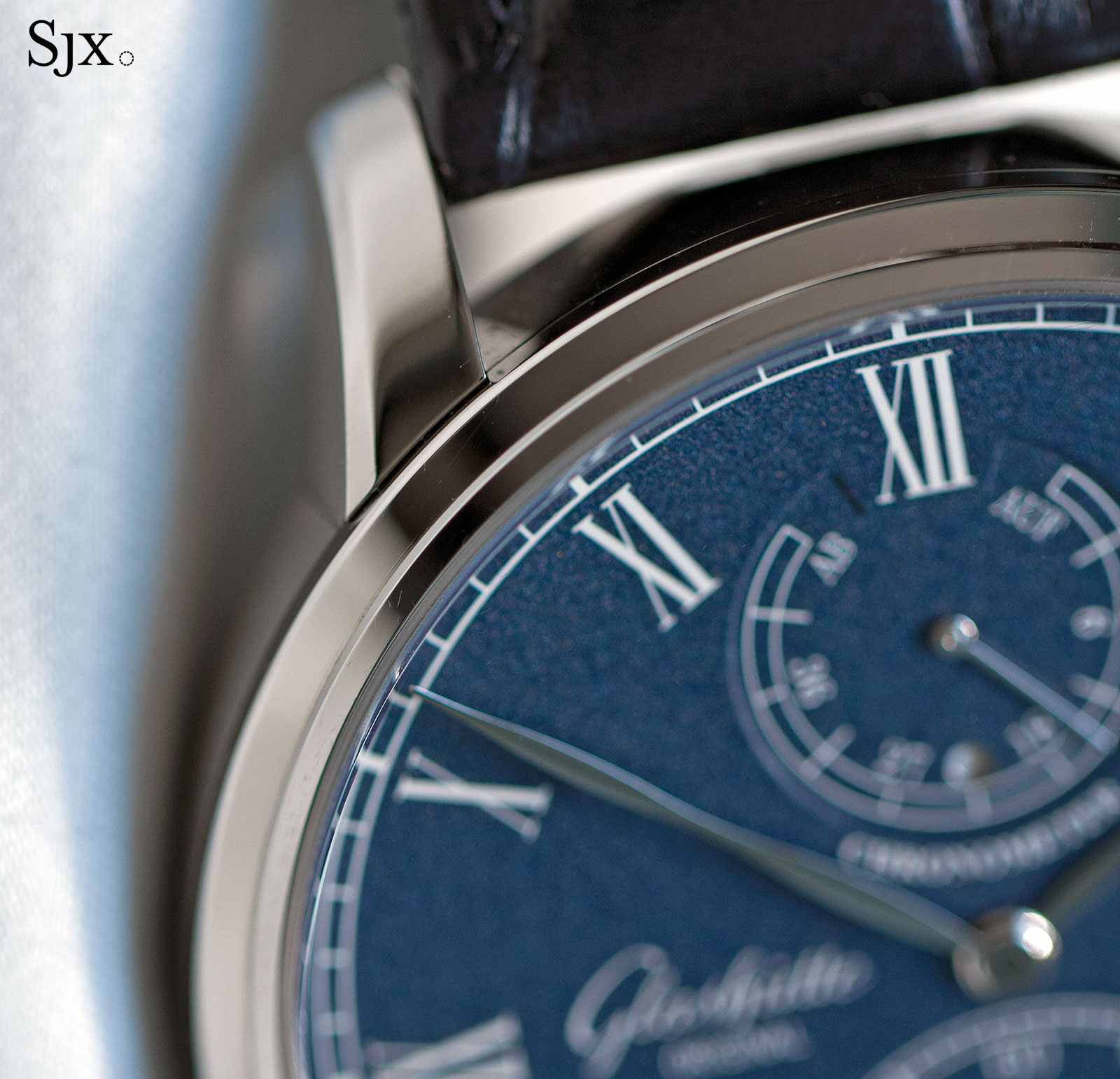 Glashütte Original Senator Chronometer Blue 4