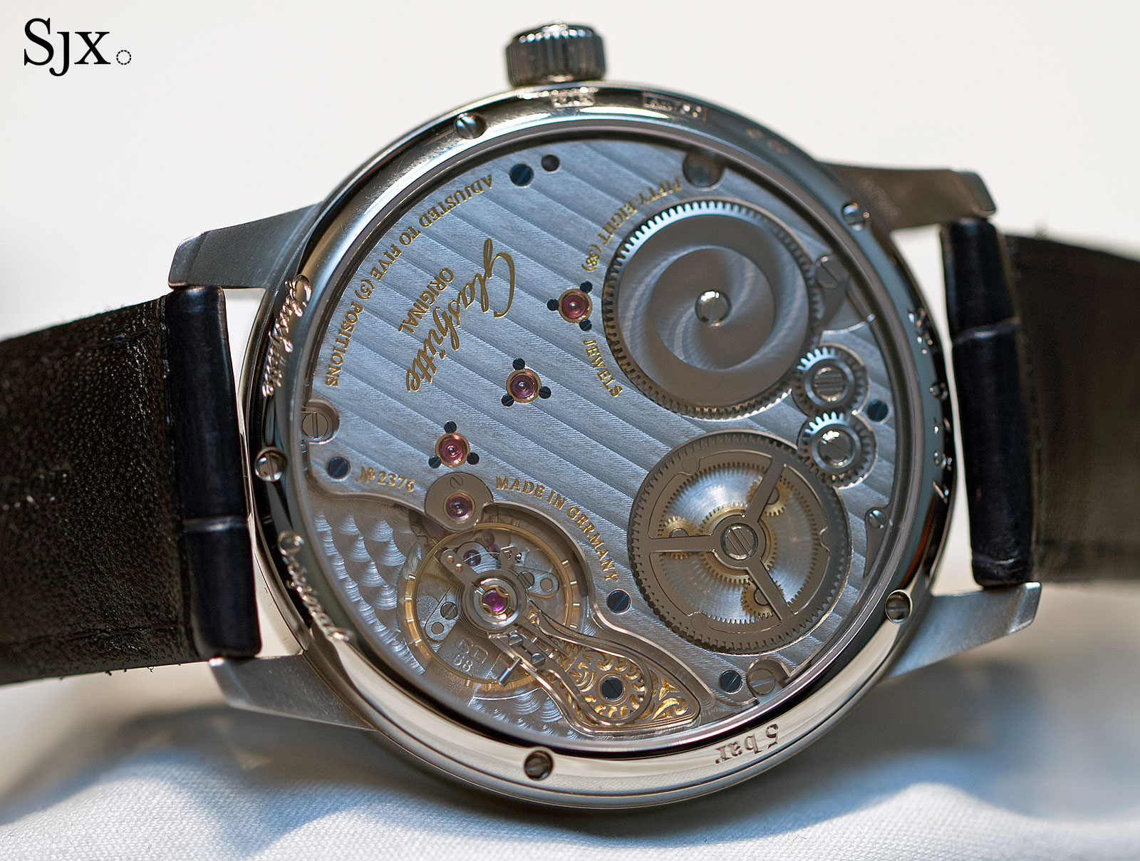 Glashütte Original Senator Chronometer Blue 5