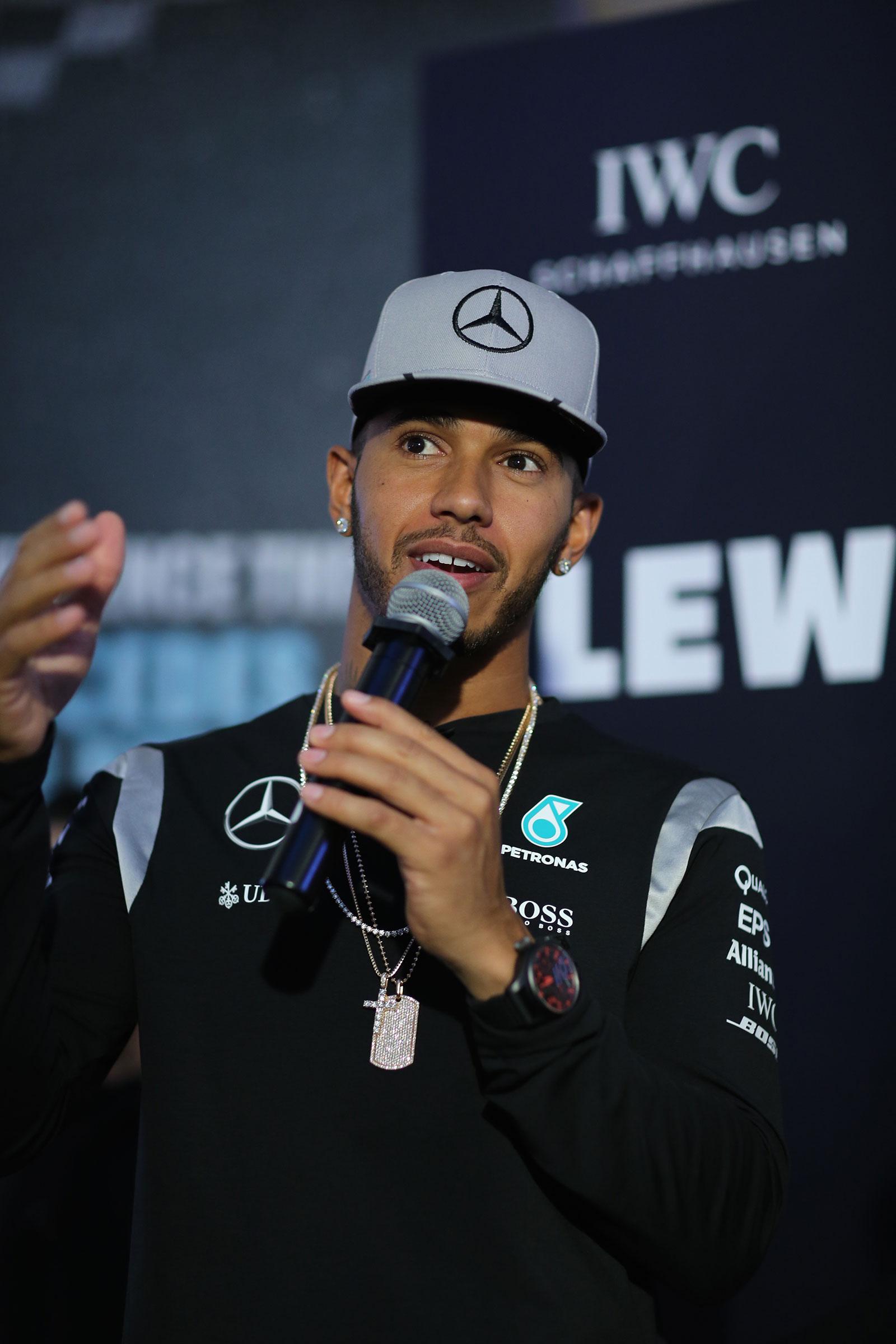 IWC Singapore Grand Prix 2016 Lewis Hamilton 4