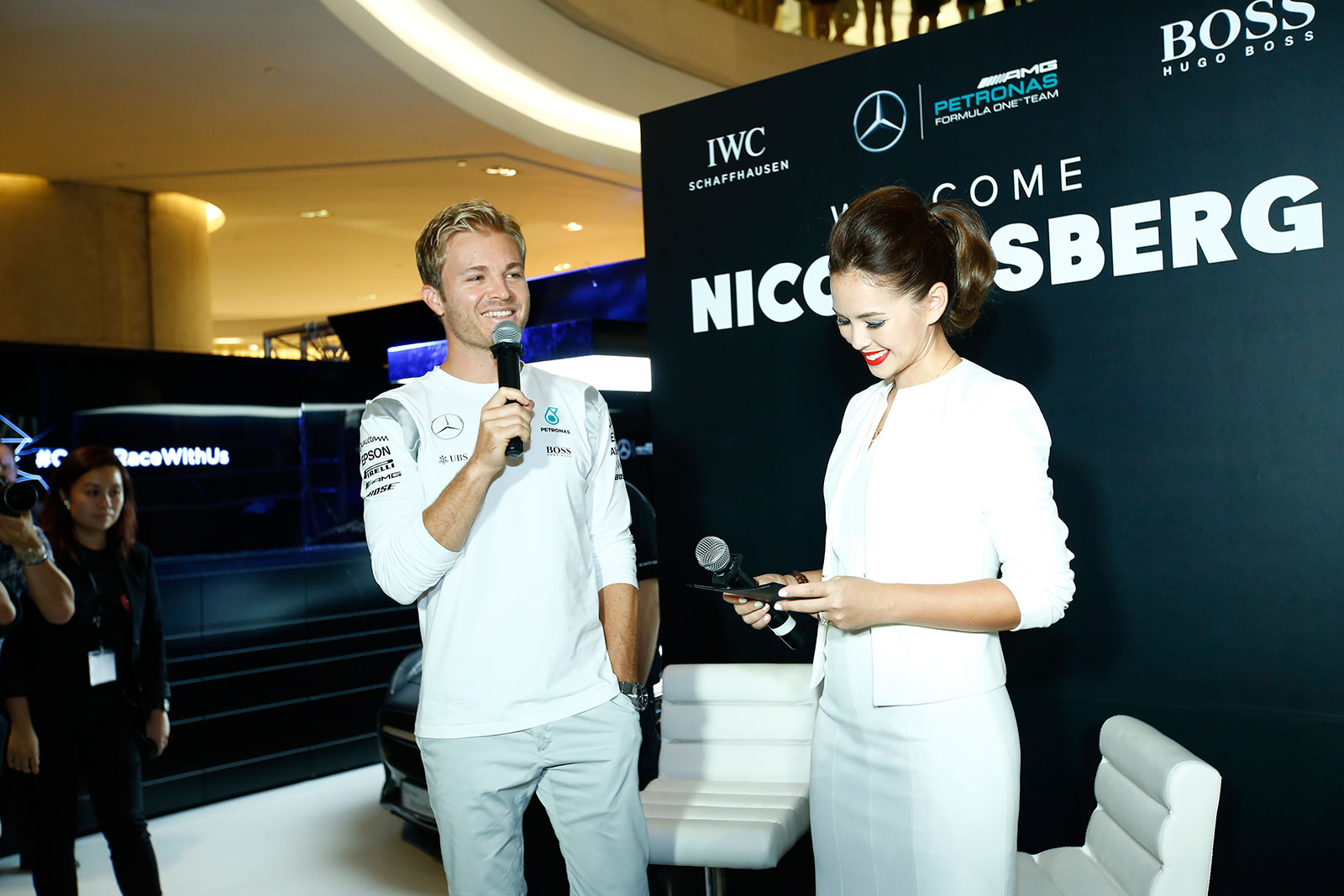 IWC Singapore Grand Prix 2016 Nico Rosberg 1