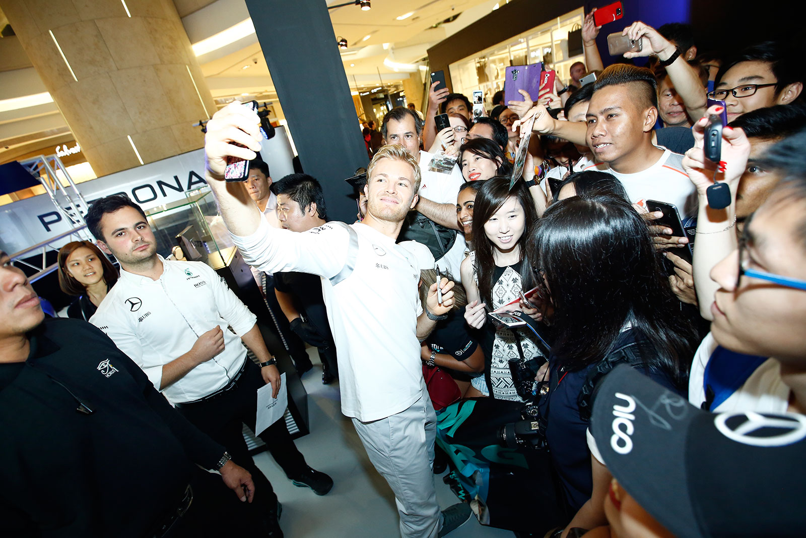 IWC Singapore Grand Prix 2016 Nico Rosberg 2