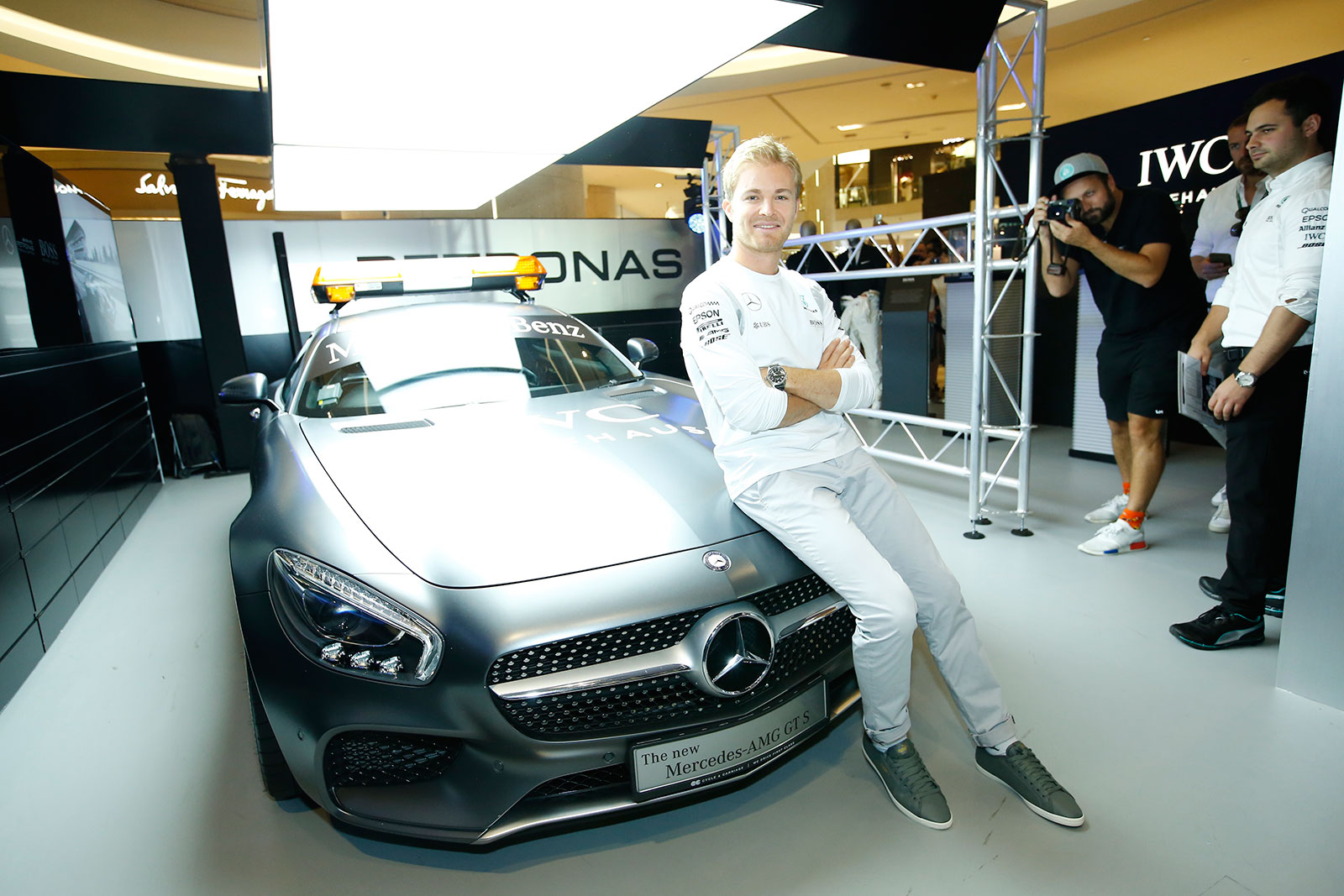 IWC Singapore Grand Prix 2016 Nico Rosberg 3
