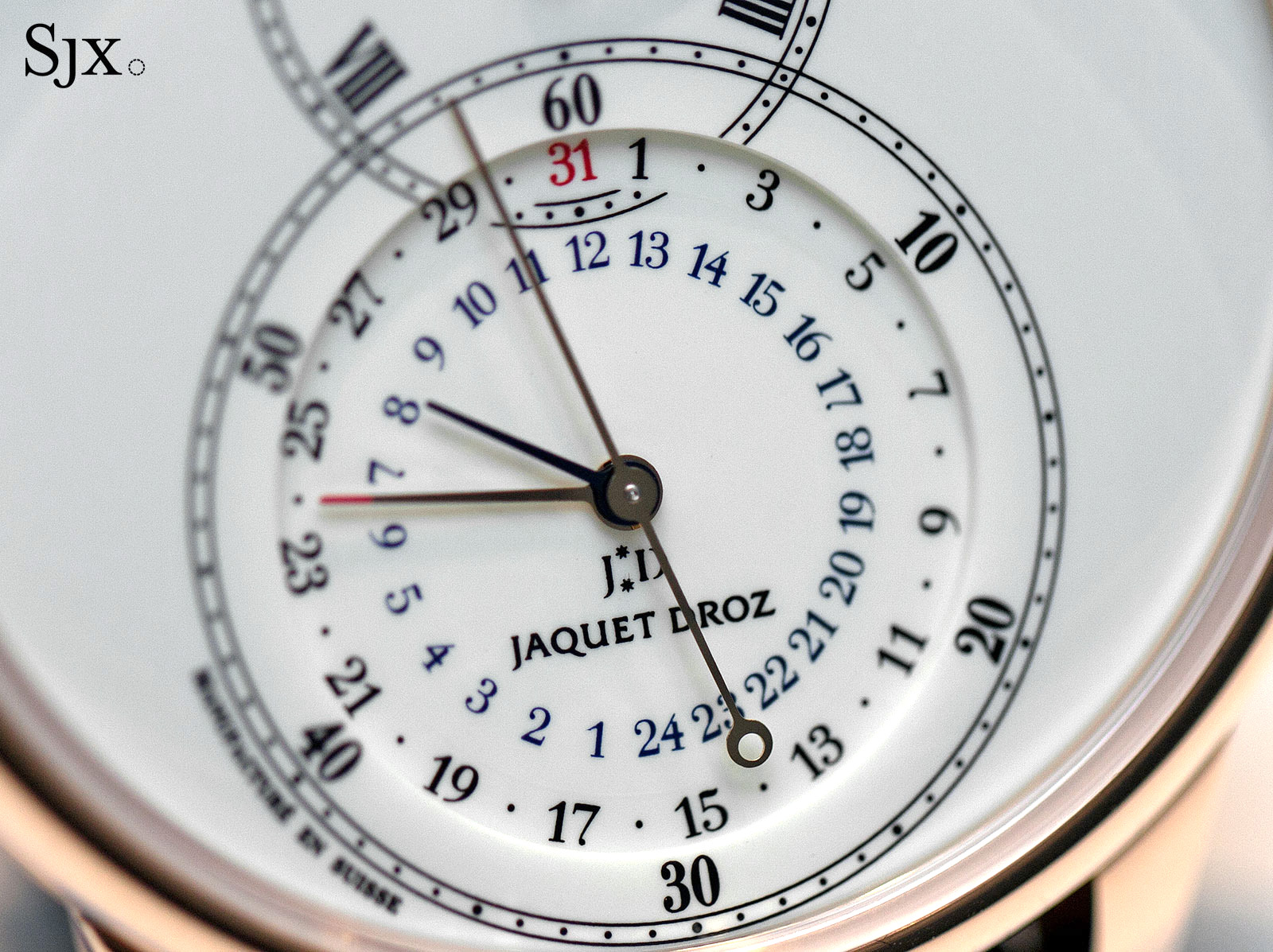Jaquet Droz Grande Seconde Dual Time rose gold 2