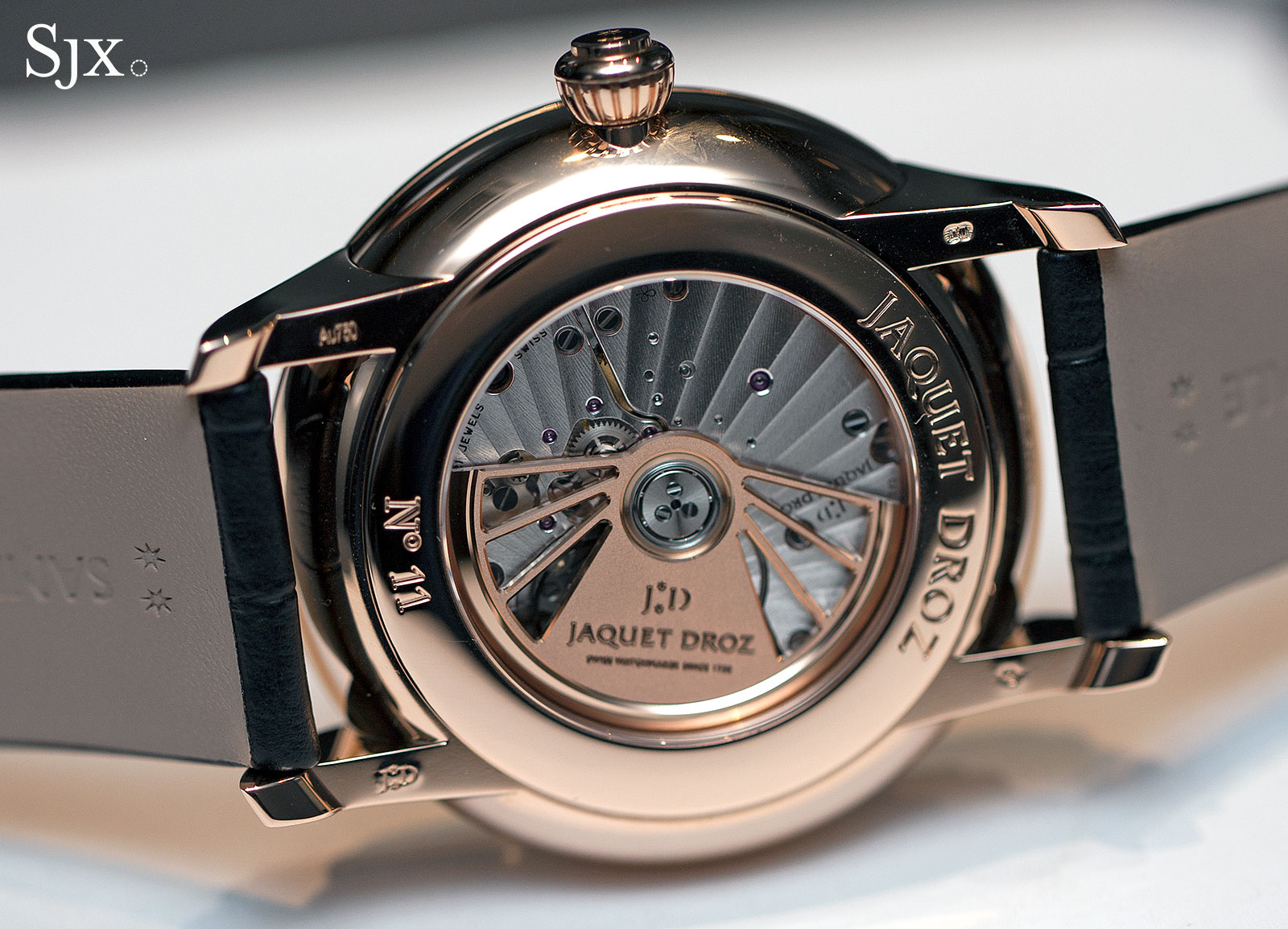 Jaquet Droz Grande Seconde Dual Time rose gold 4