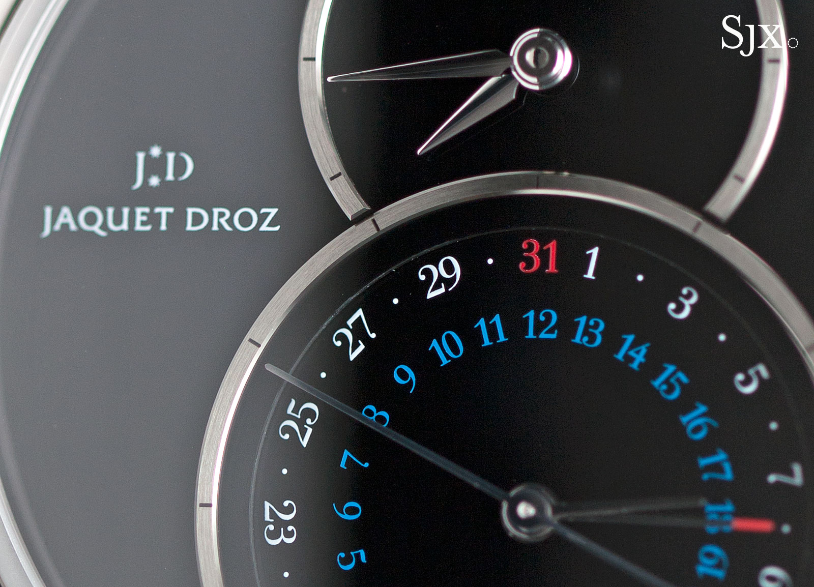 Jaquet Droz Grande Seconde Dual Time steel onyx 2