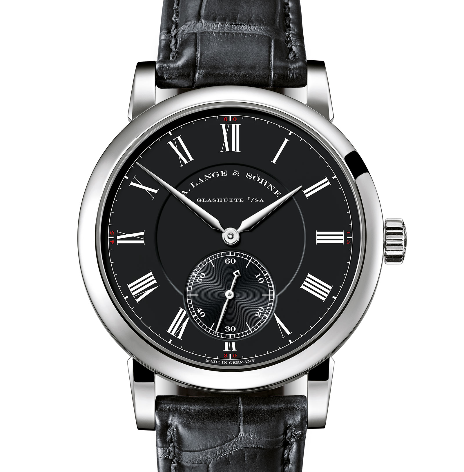 Lange Richard Lange Pour le Mérite white gold black