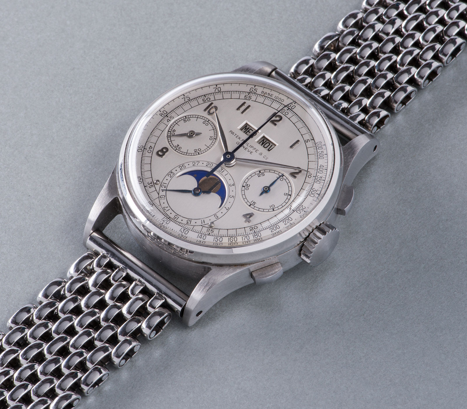 Phillips GWA4 Patek-Philippe-1518 steel