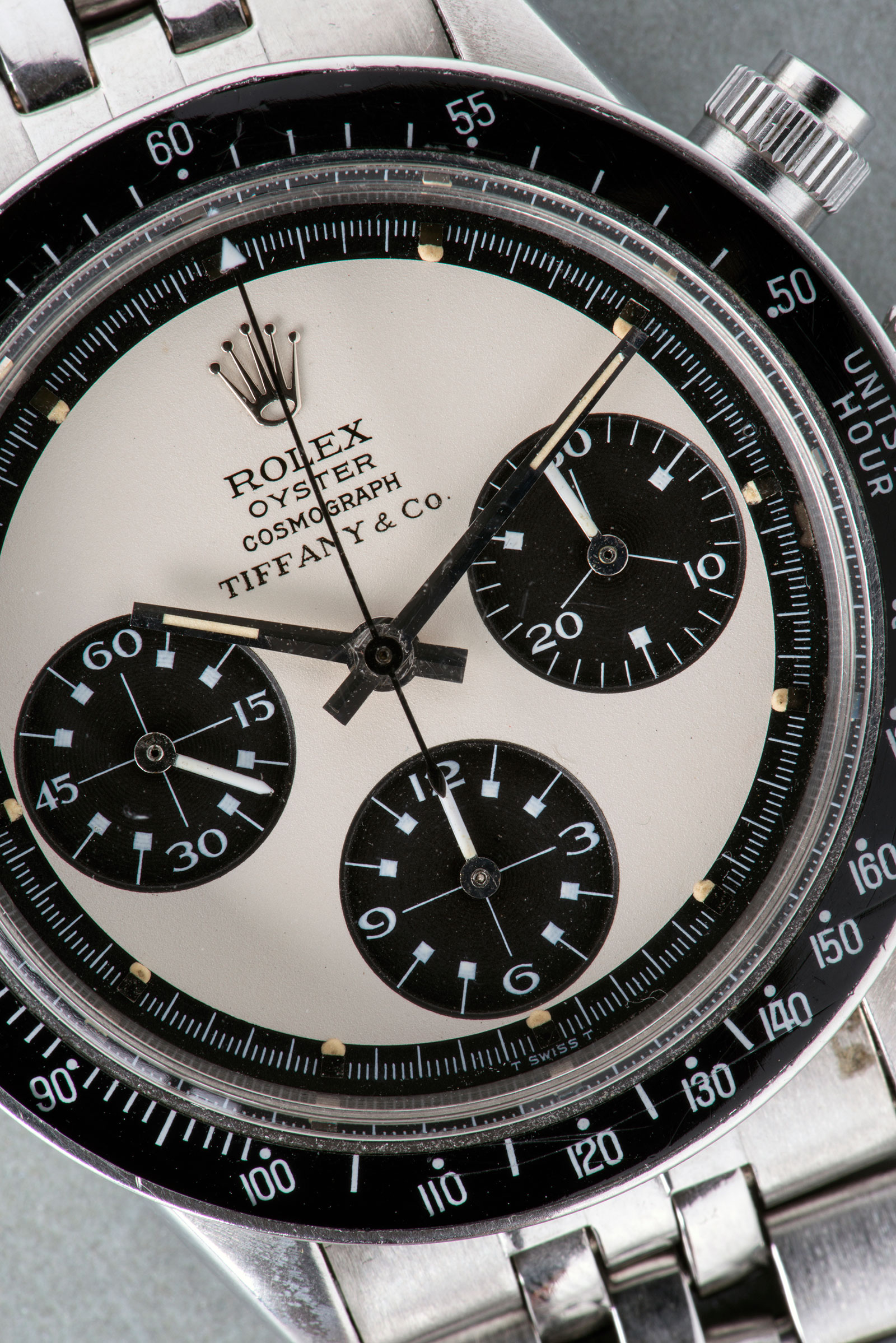 Phillips GWA4 Rolex Panda Paul Newman Tiffany dial