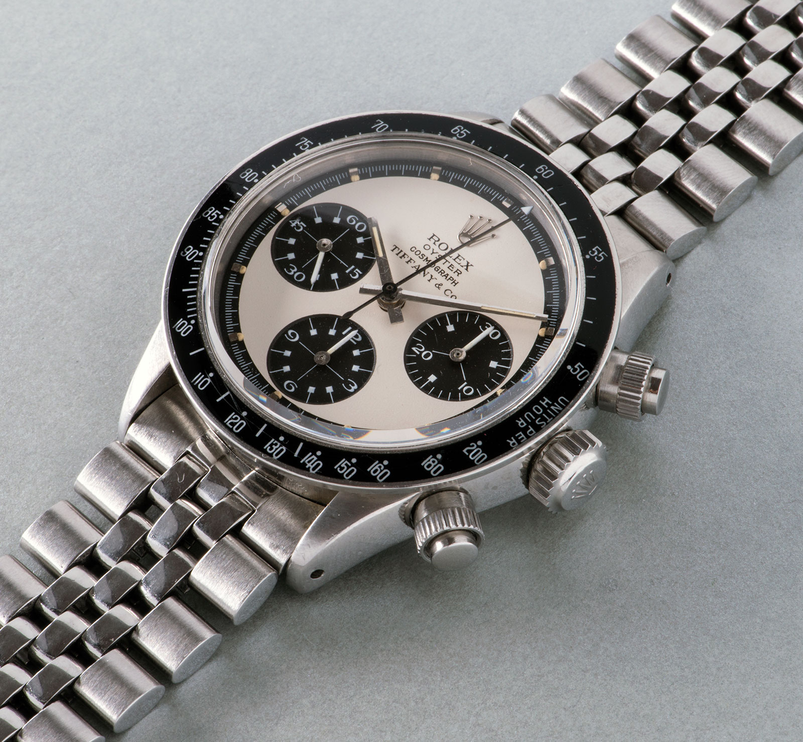 Phillips GWA4 Rolex Panda Paul Newman Tiffany