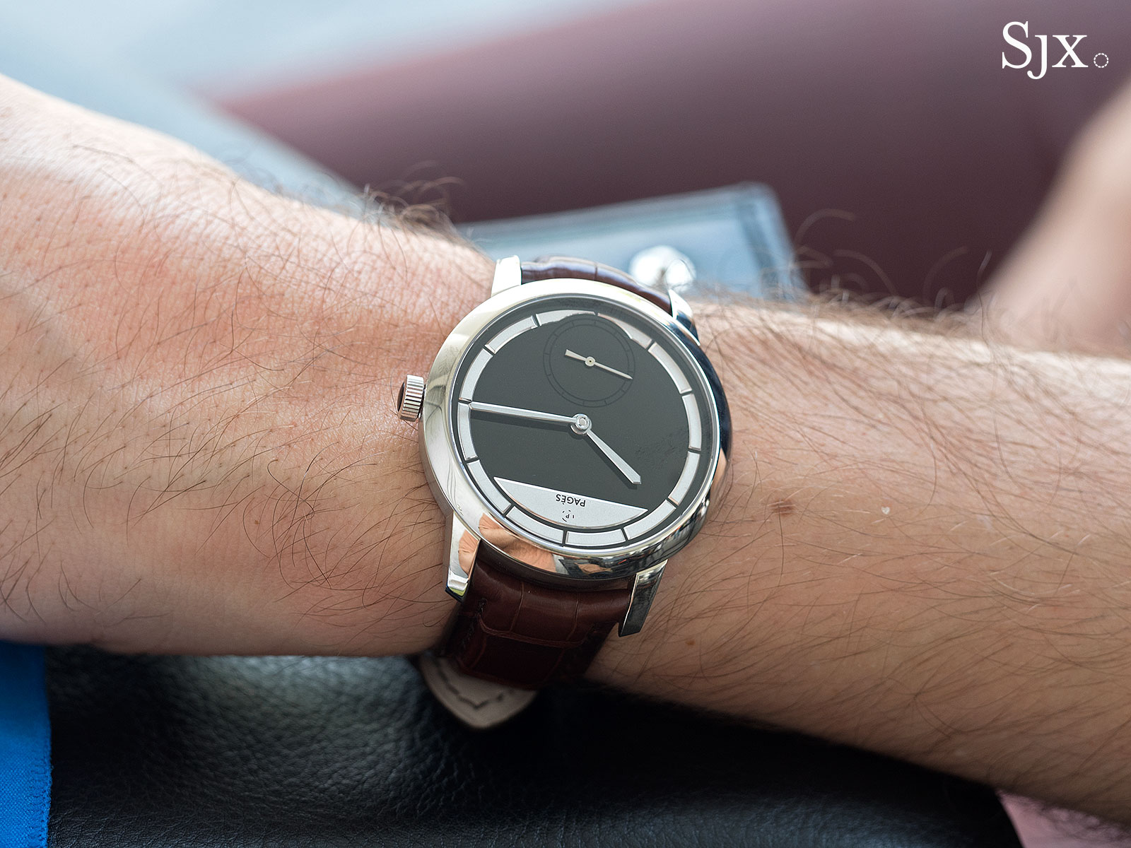 Raul Pages Soberly Onyx wrist shot