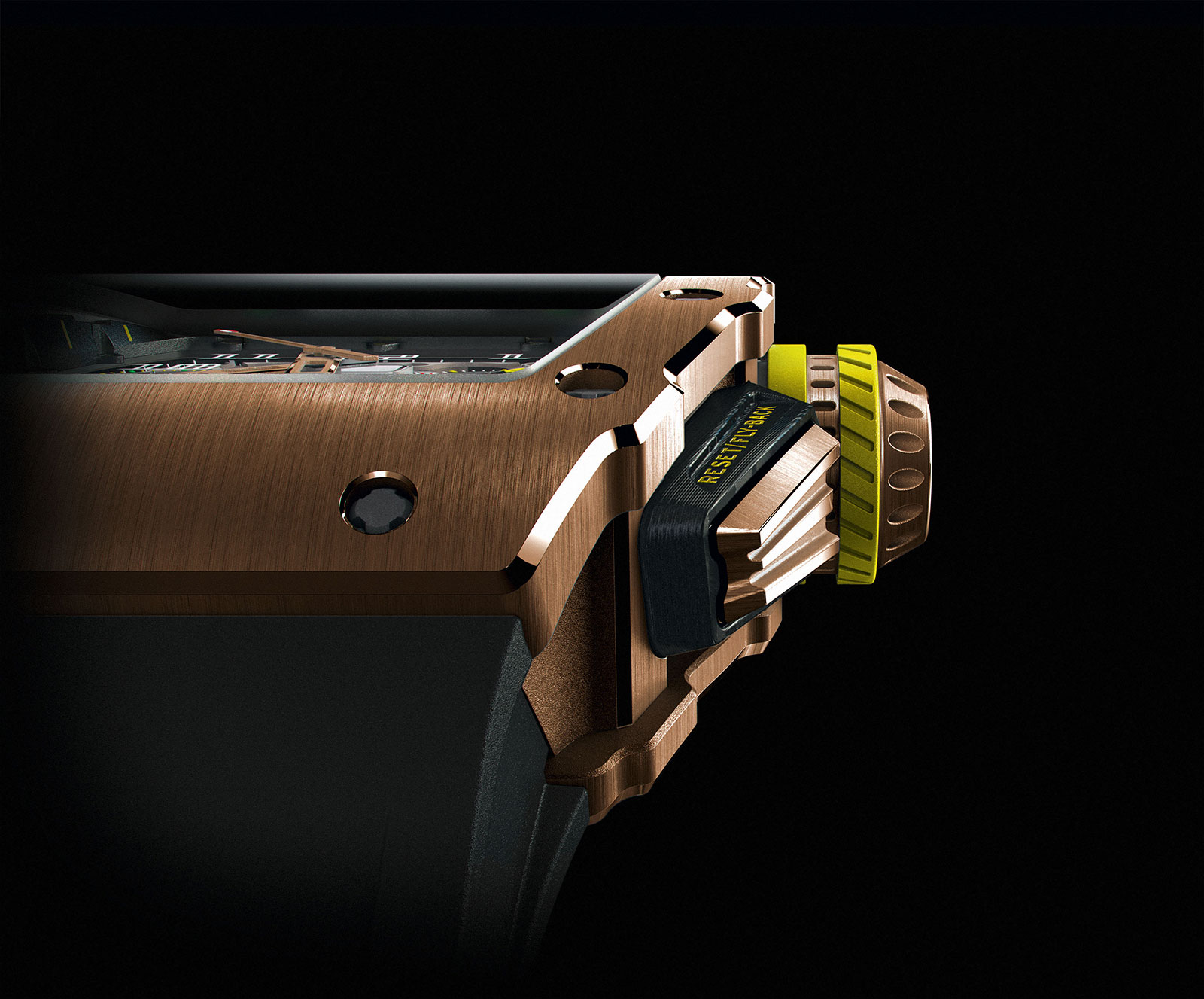 Richard Mille RM 11-03 red gold 1
