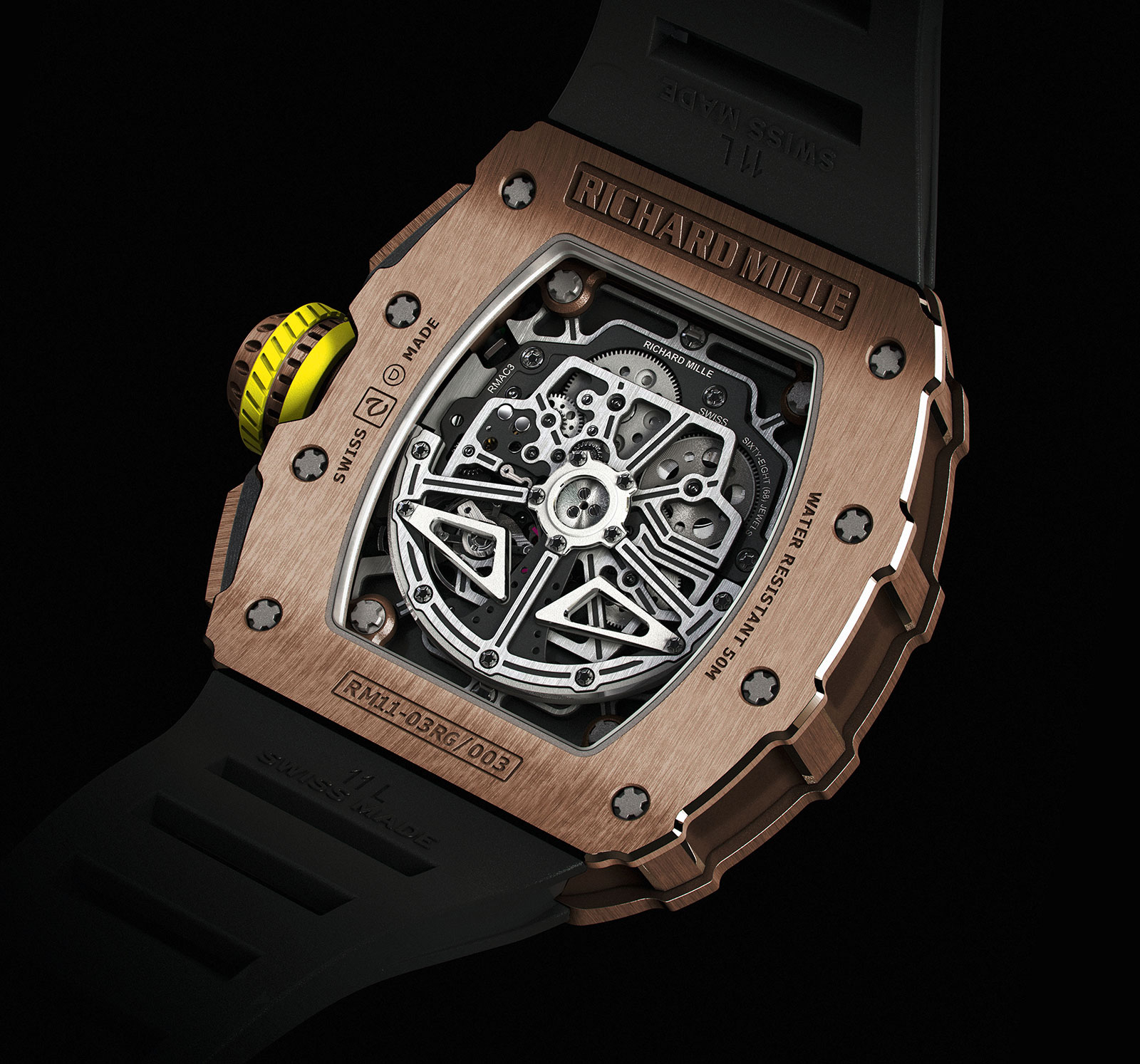 Richard Mille RM 11-03 red gold 2