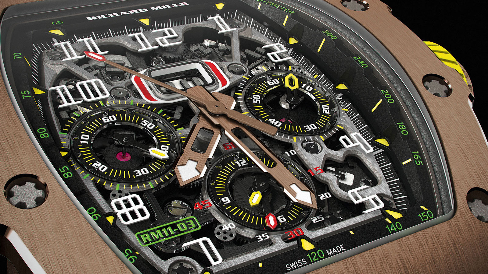 Richard Mille RM 11-03 red gold 3