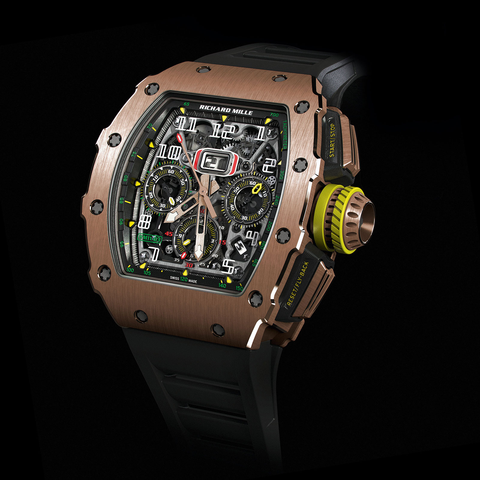 Richard Mille RM 11-03 red gold 5