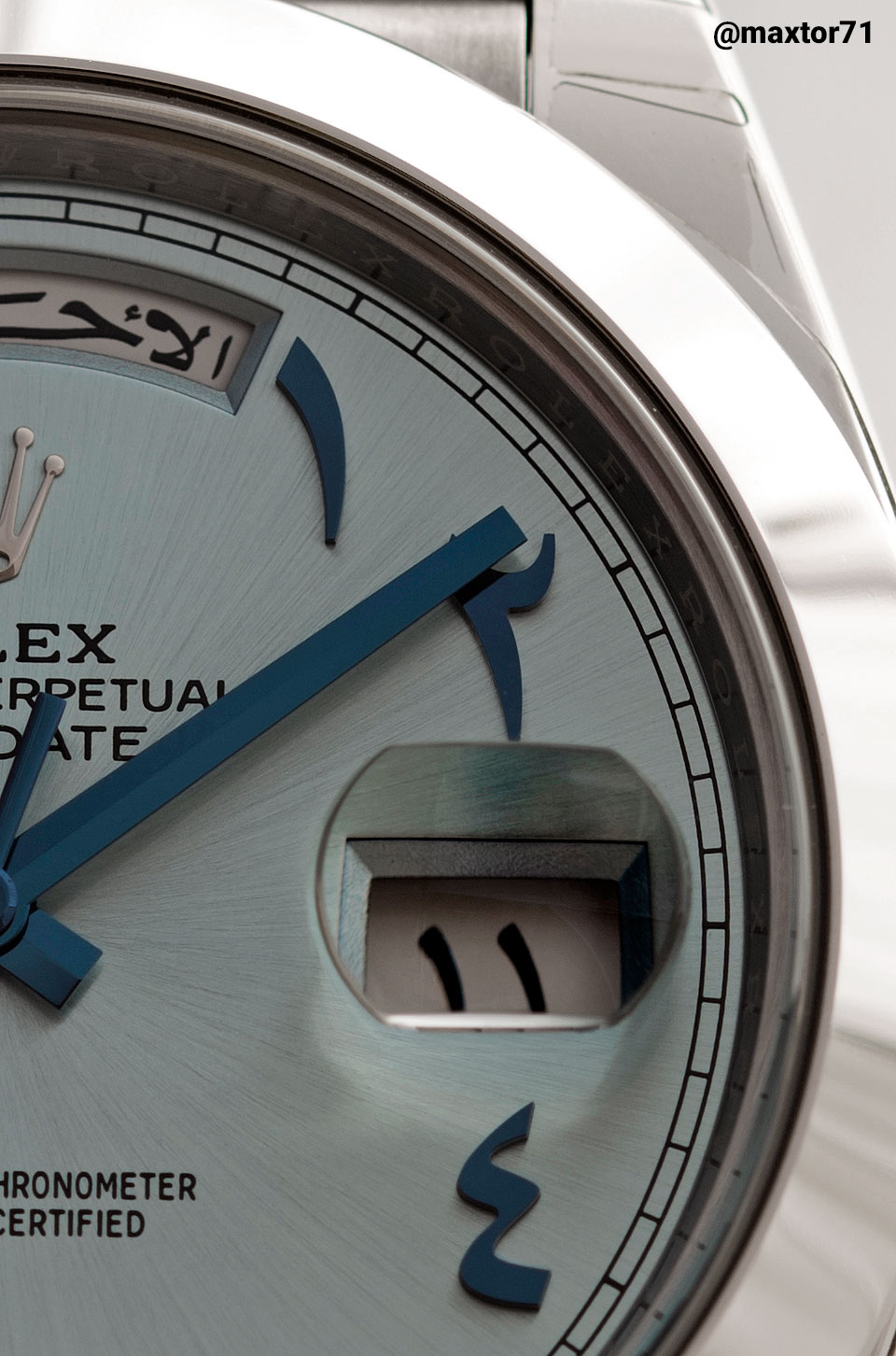 Rolex Day-Date 40 Eastern Arabic Numbers 1