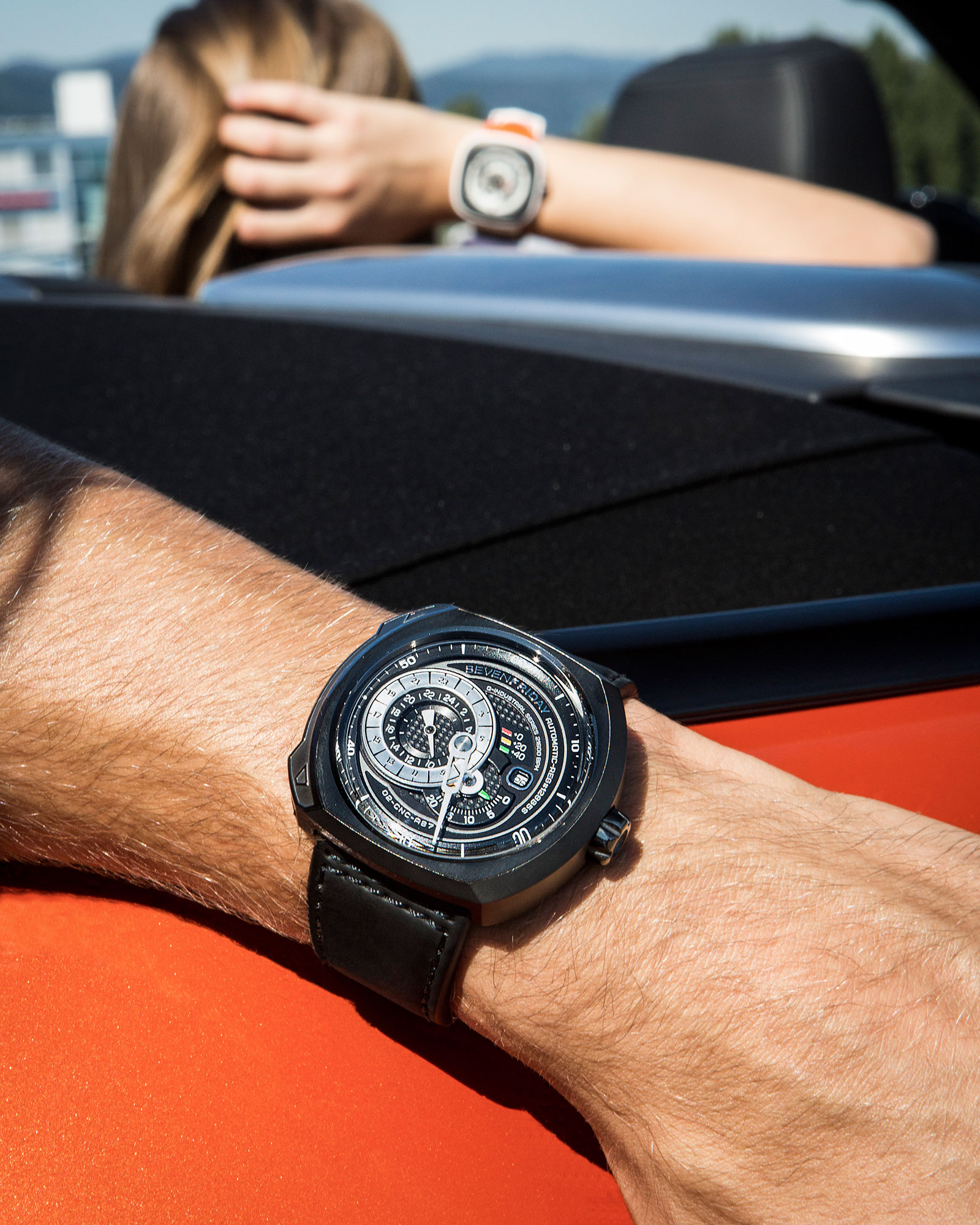 SevenFriday Q-3 wrist shot