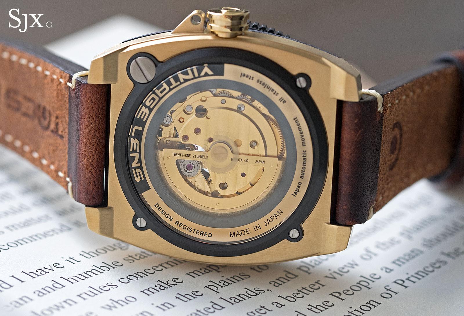 TACS Vintage Lens Automatic watch 4