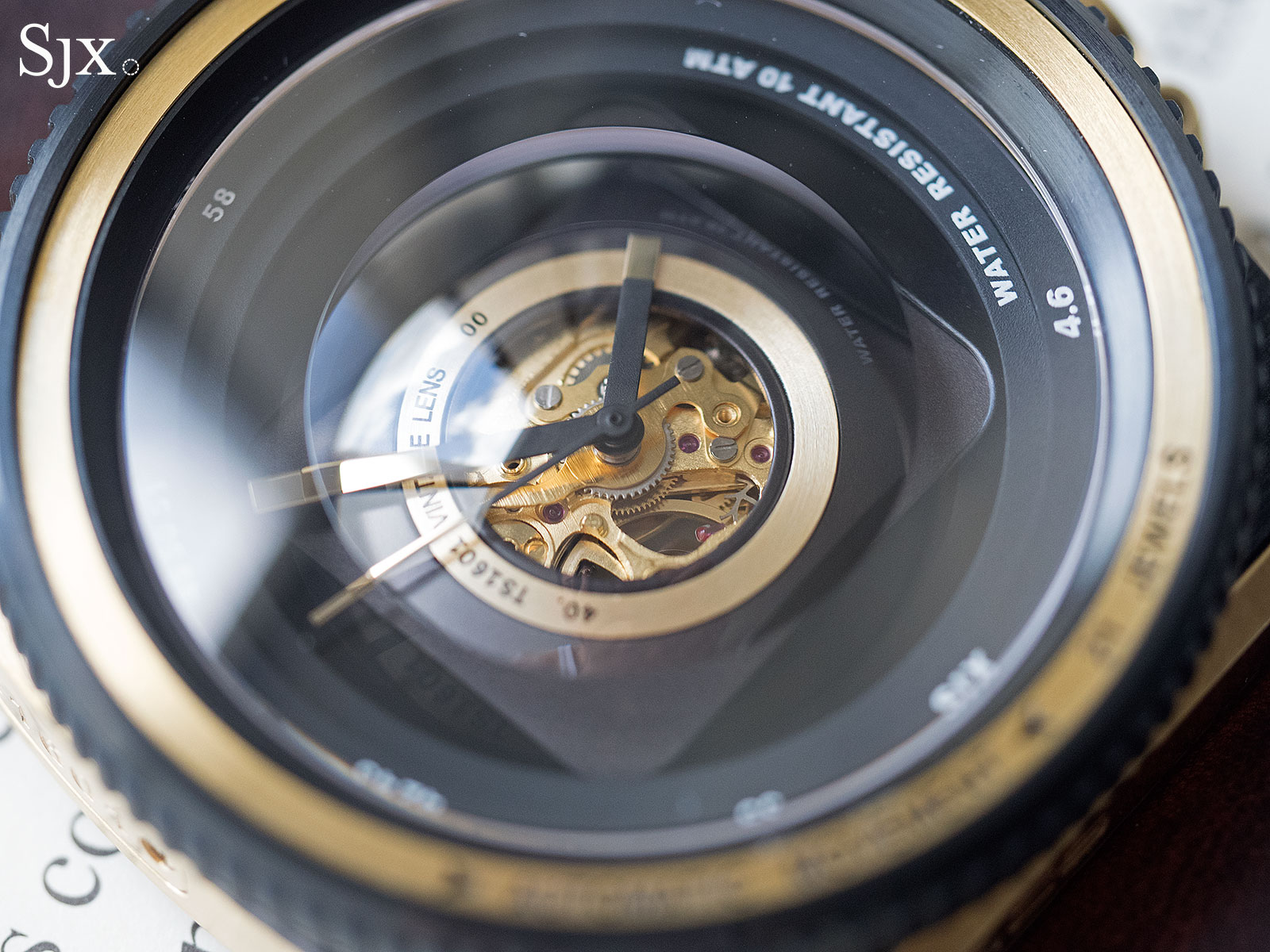 TACS Vintage Lens Automatic watch 5