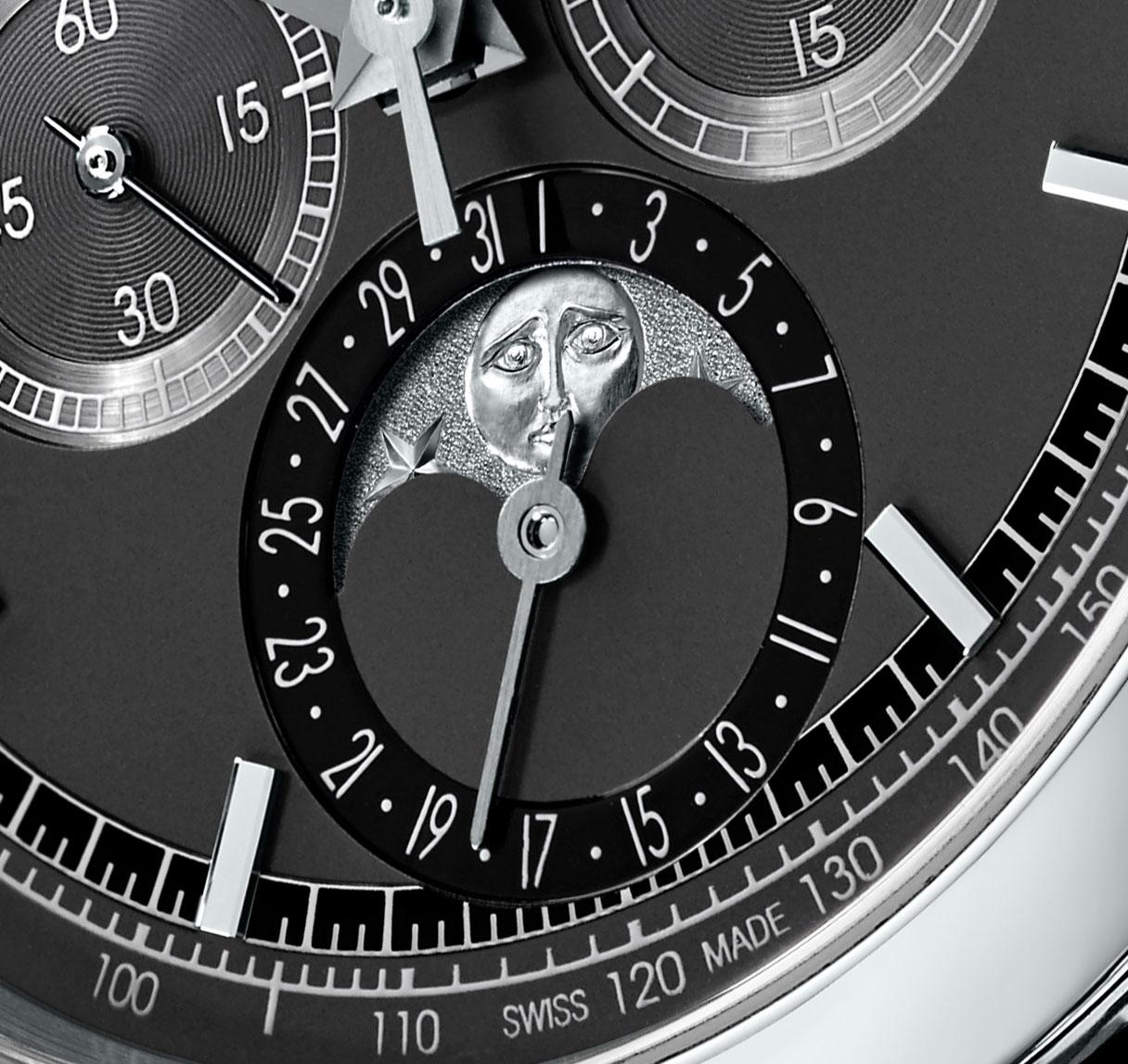 Vacheron Constantin Traditionnelle chronograph perpetual calendar platinum black 1