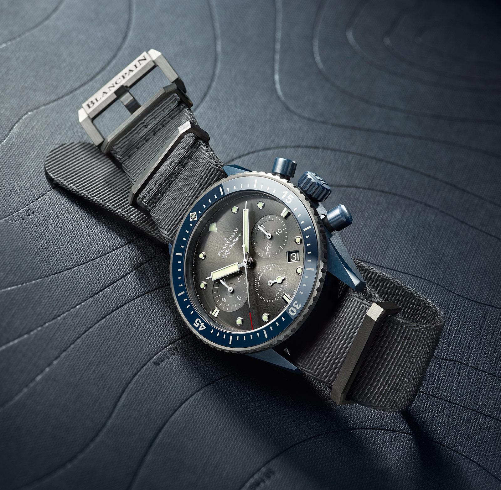 Blancpain Bathyscaphe Flyback Chronograph BOC II 3