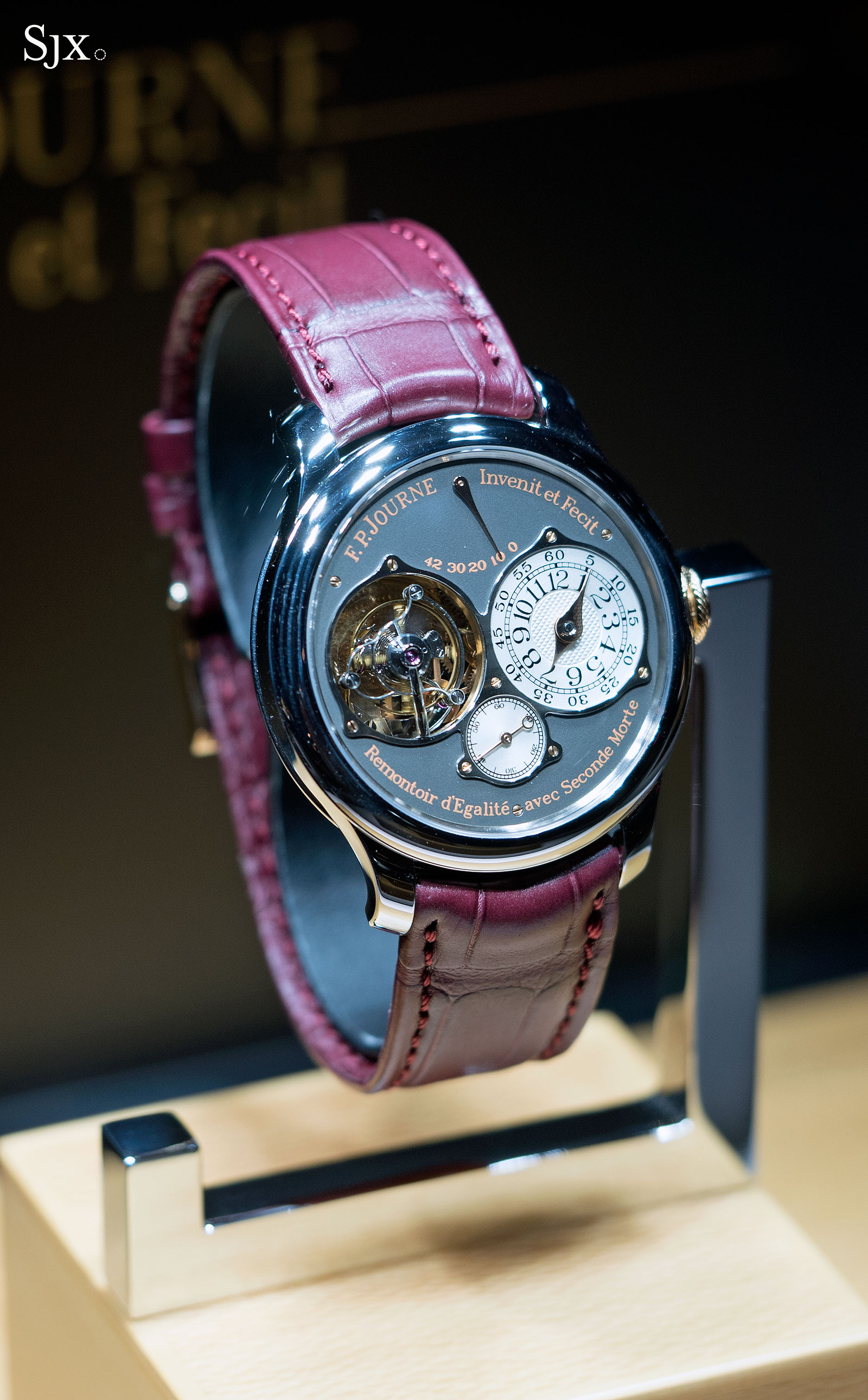 Hands On With The F P Journe Centigraphe Souverain 10th
