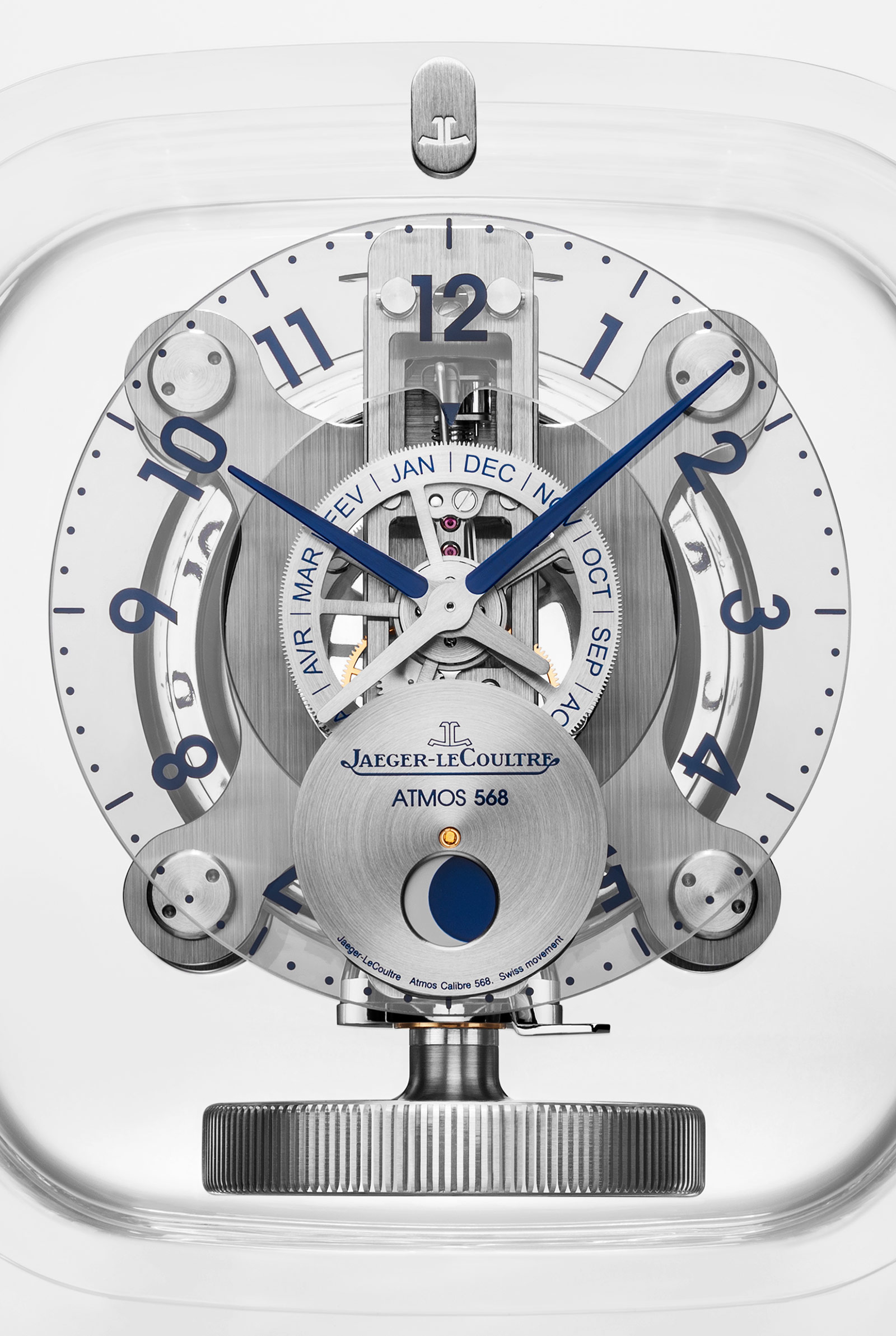 Jaeger-LeCoultre Atmos 568 Marc Newson 1
