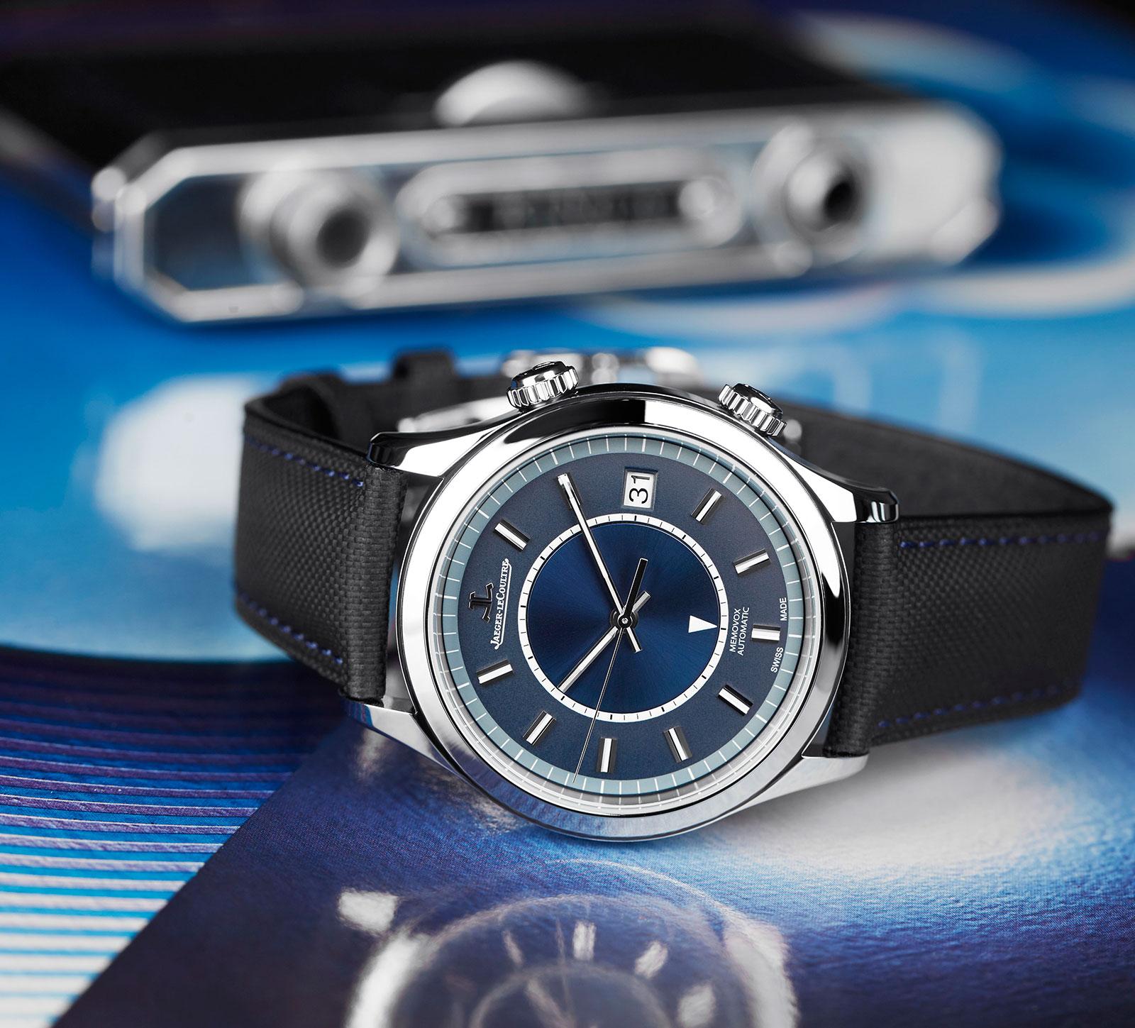 Jaeger-LeCoultre Master Memovox Boutique Edition Blue Dial 1